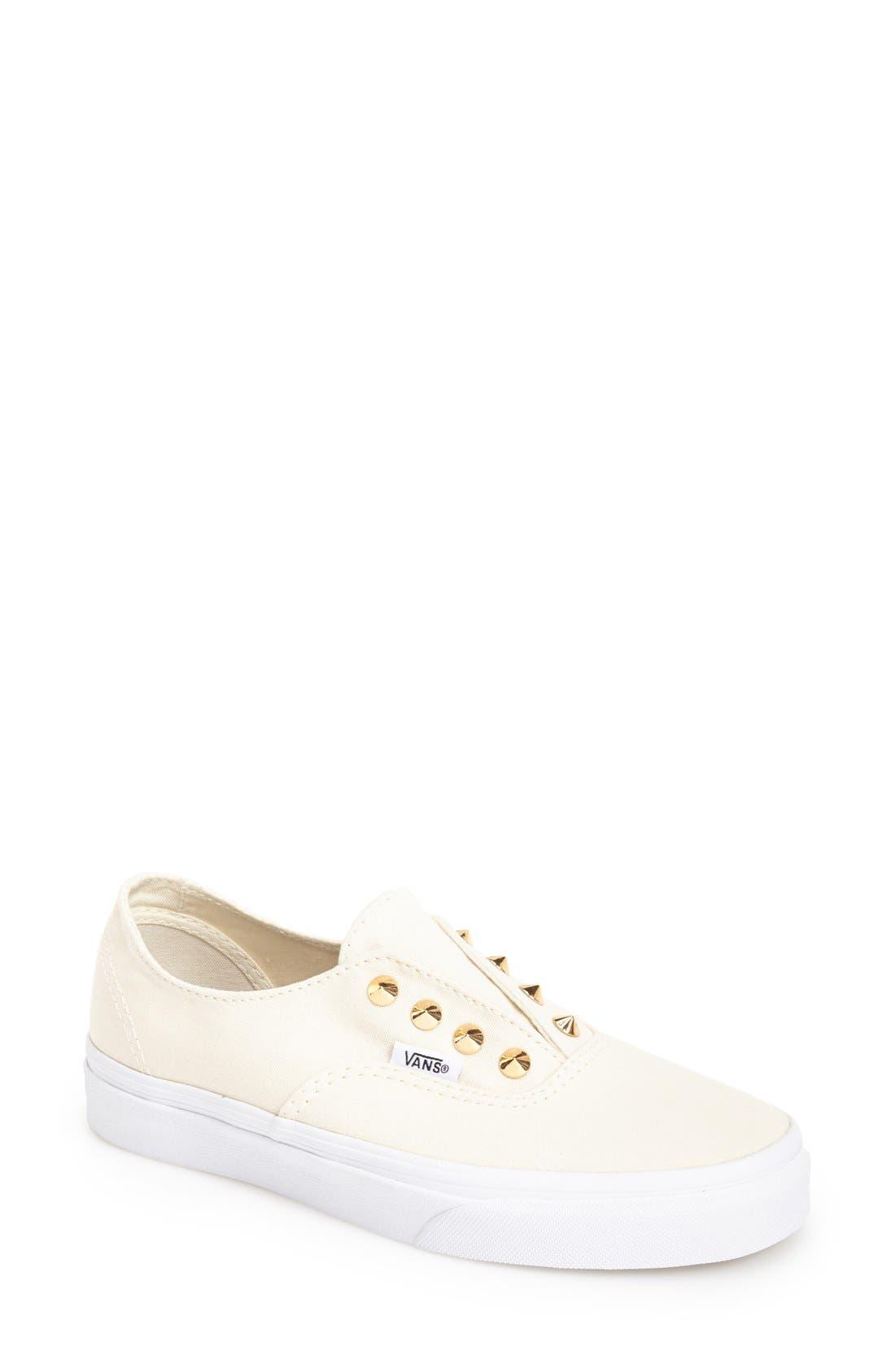Main Image - Vans 'Authentic Gore - Studs' Slip-On Sneaker (Women)