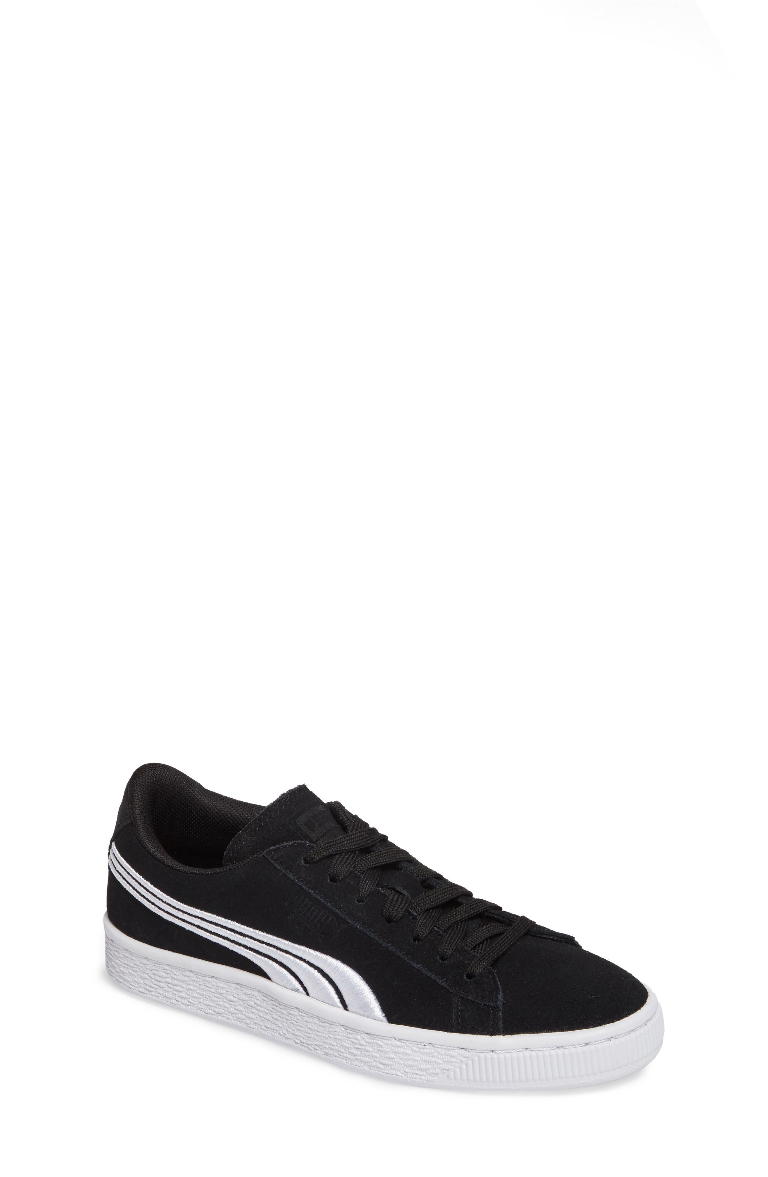 Classic Badge Sneaker,                         Main,                         color, Black