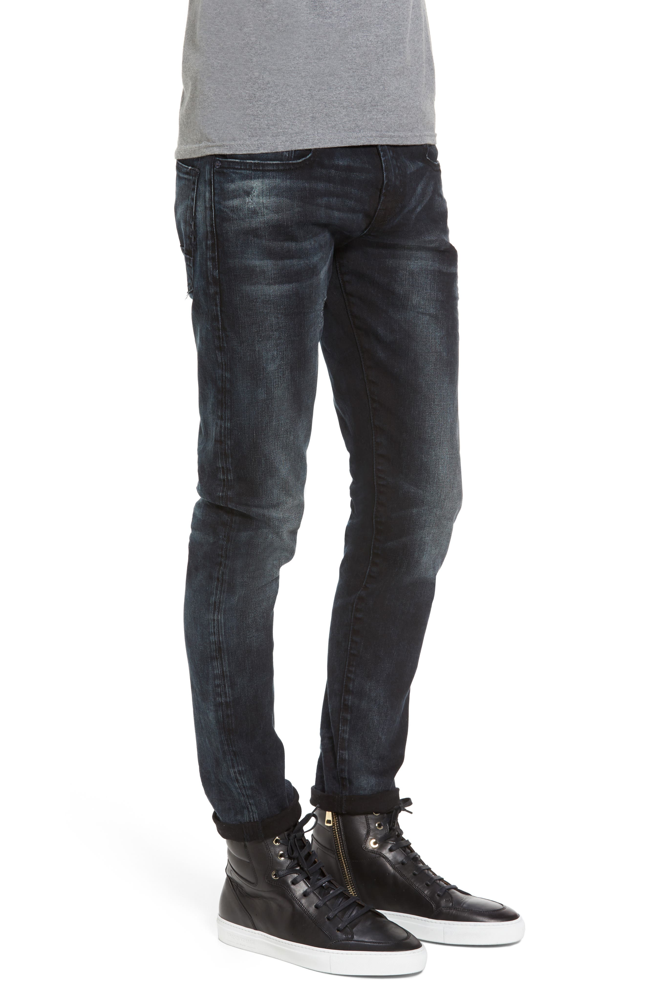 Tye Slim Fit Jeans,                             Alternate thumbnail 3, color,                             Sander