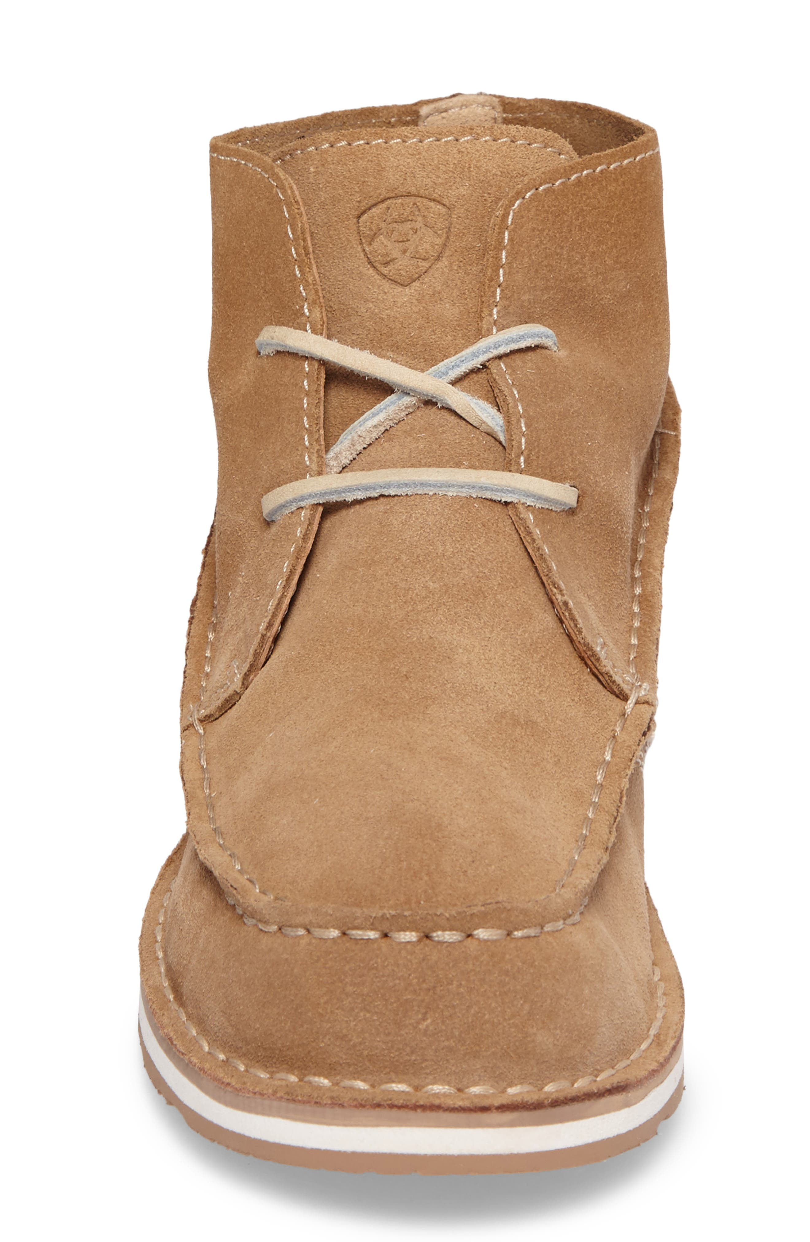 Cruiser Chukka Boot,                             Alternate thumbnail 5, color,                             Lace Dirty Taupe Suede