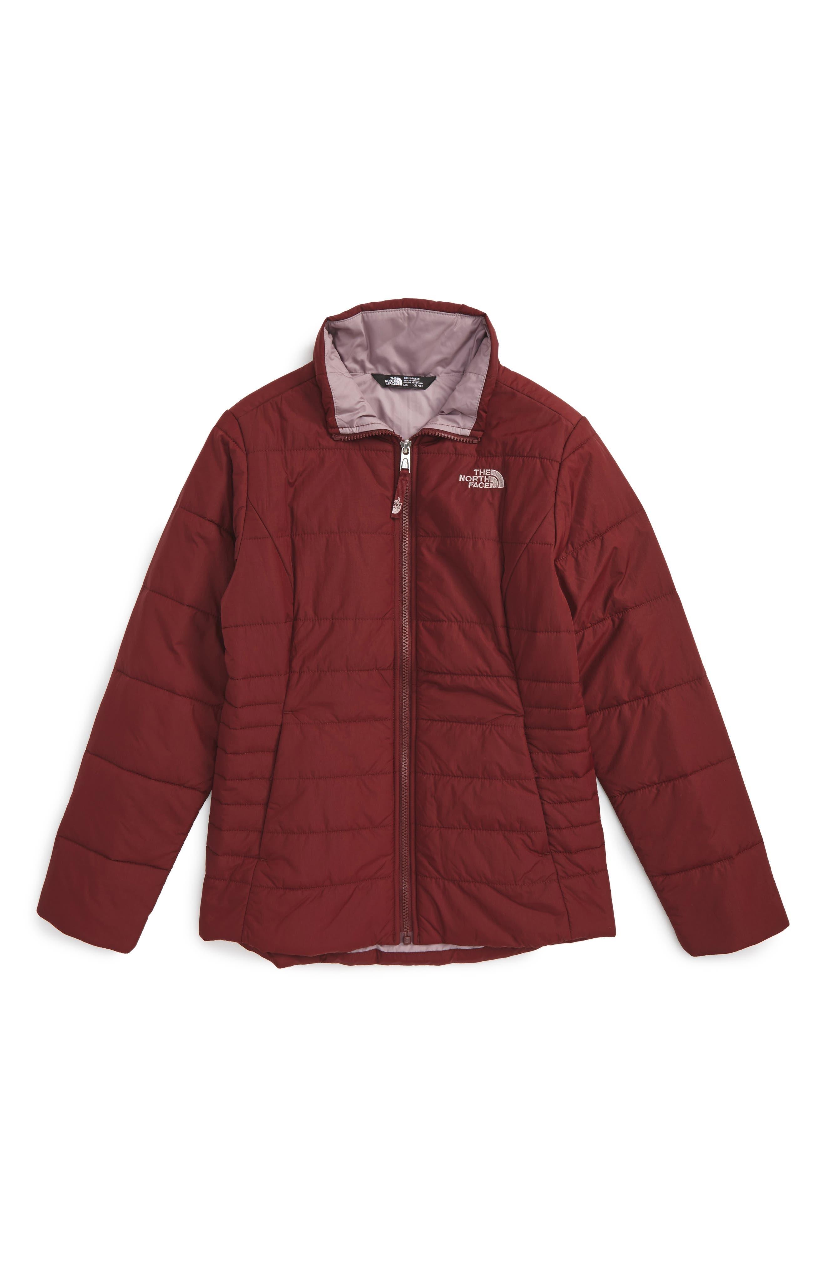 Main Image - The North Face Harway Heatseeker™Water-Resistant Jacket (Little Girls & Big Girls)