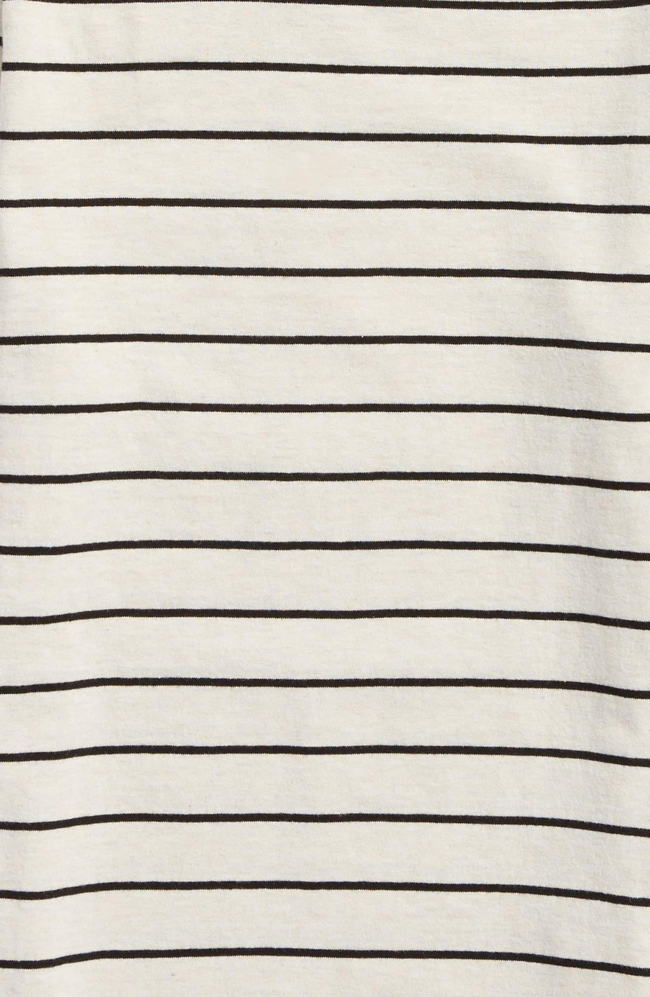 Alternate Image 2  - Vans Milton Stripe Long Sleeve T-Shirt (Big Boys)