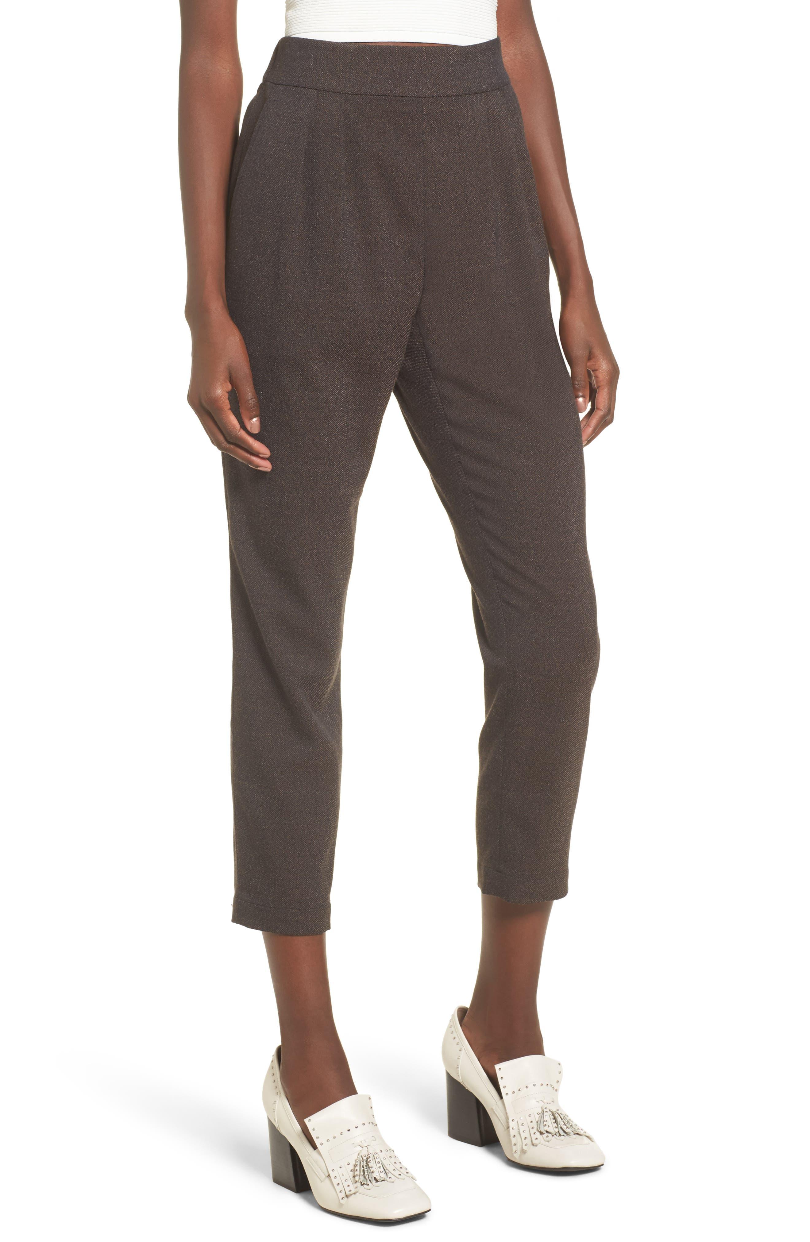 Leith Side Zip Crop Pants