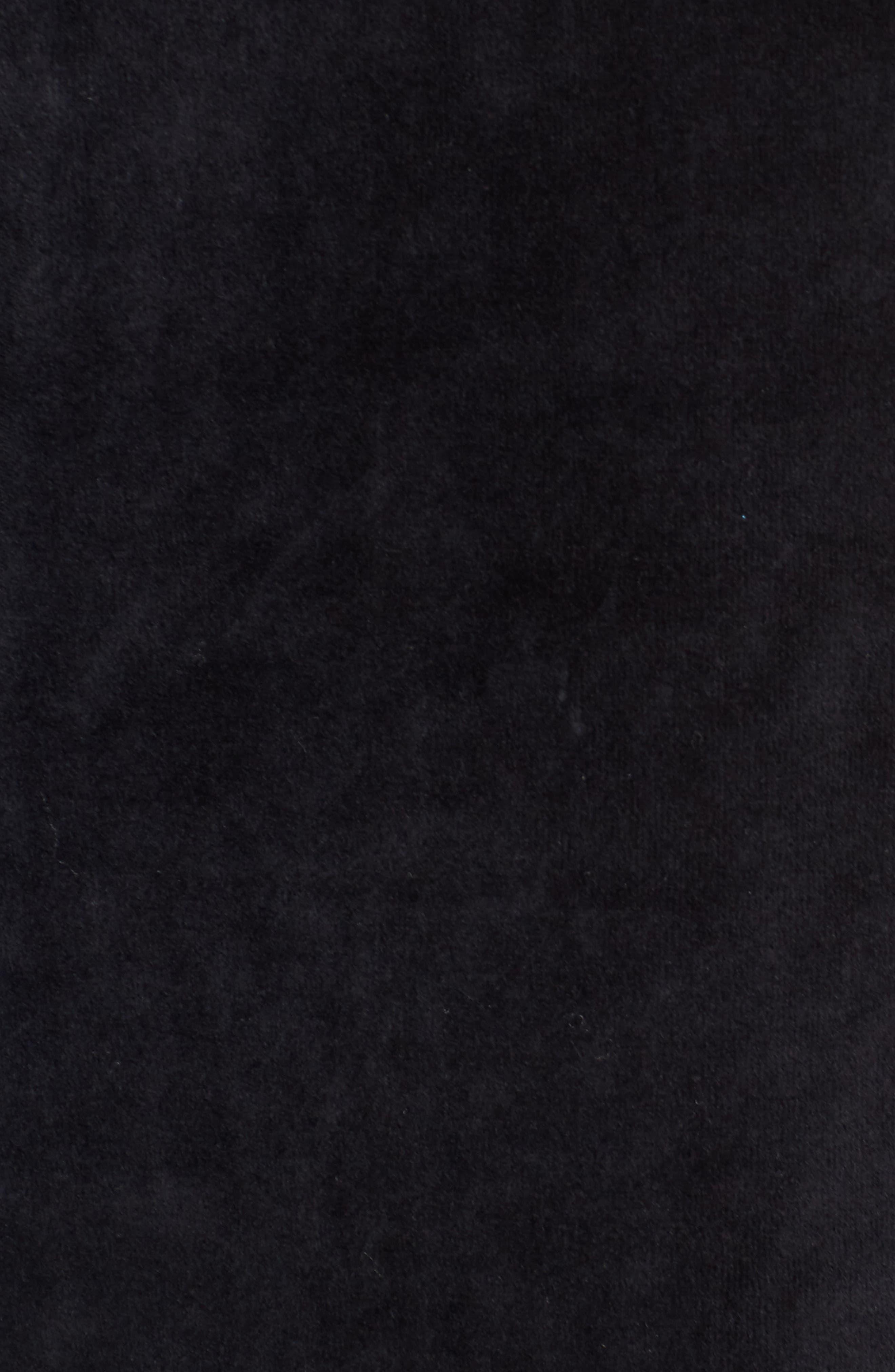 Alternate Image 5  - Zella Cara Velour Cold Shoulder Top