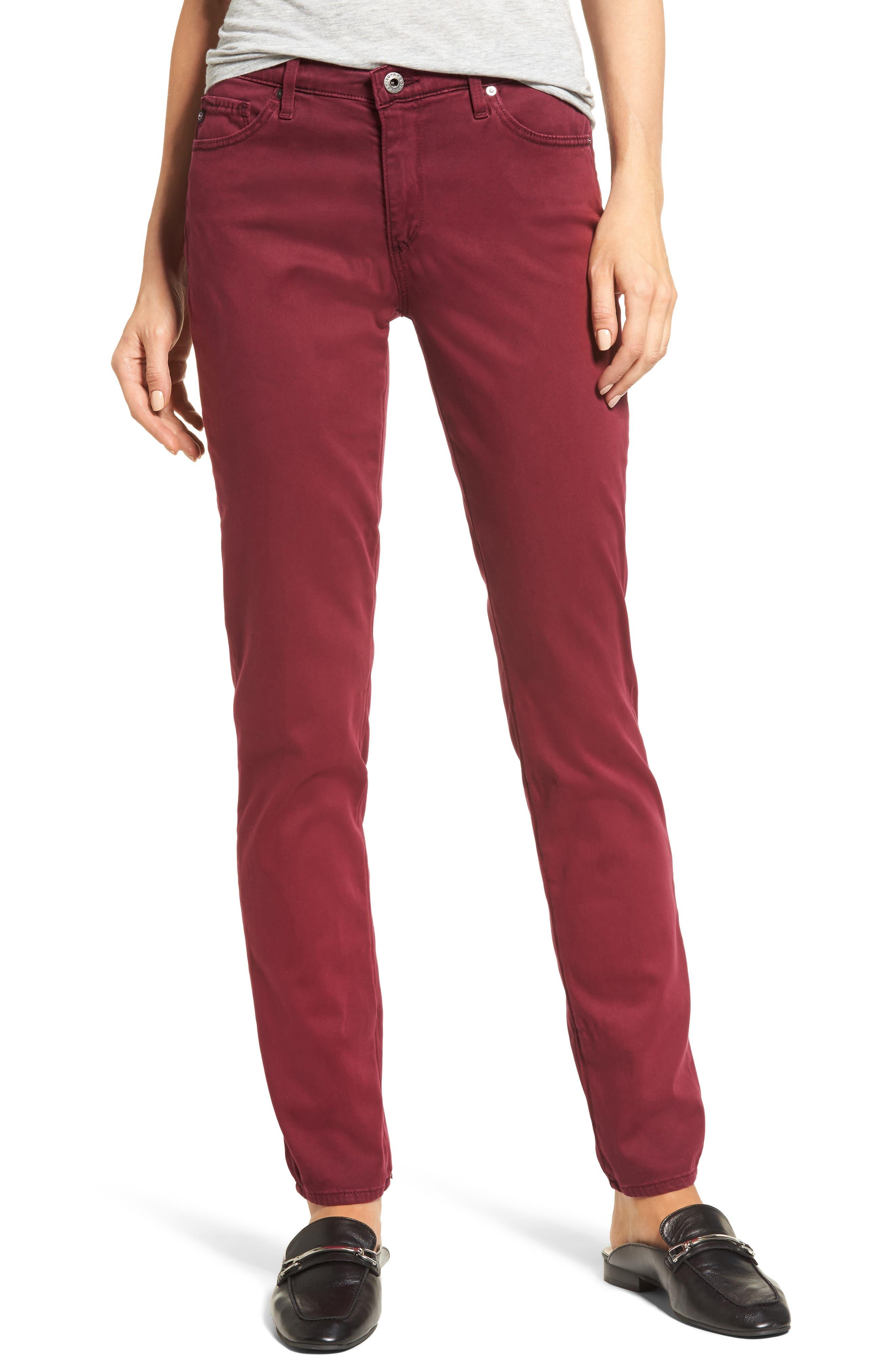 Alternate Image 1 Selected - AG 'The Prima' Cigarette Leg Skinny Jeans