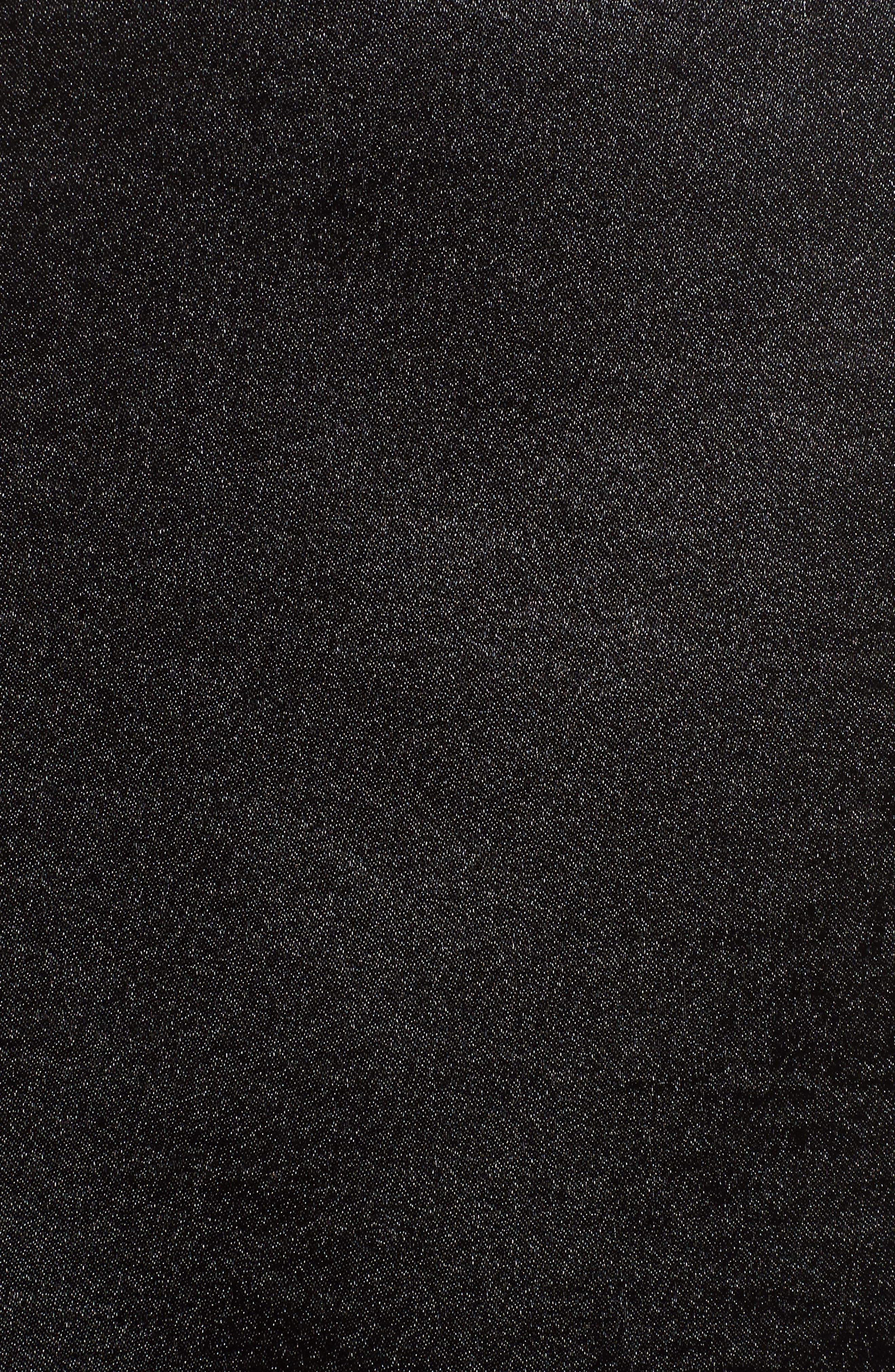 Scallop Edge Camisole,                             Alternate thumbnail 5, color,                             Black