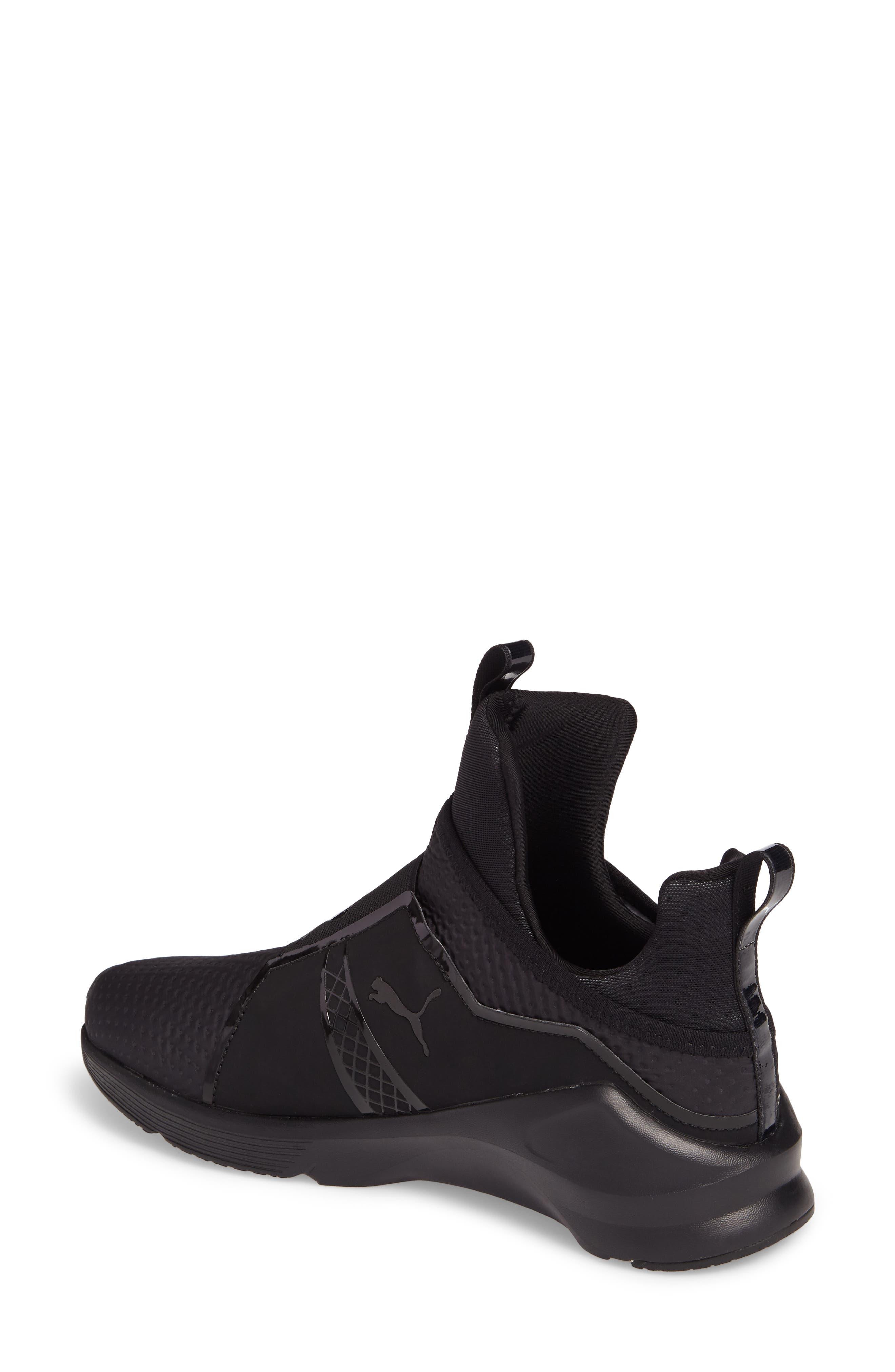 Alternate Image 2  - PUMA 'Fierce Core' High Top Sneaker (Women)