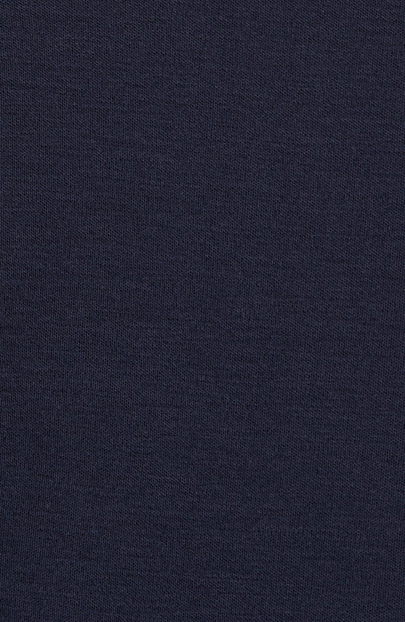 250 Sport Merino Wool Zip Jacket,                             Alternate thumbnail 5, color,                             Deep Navy