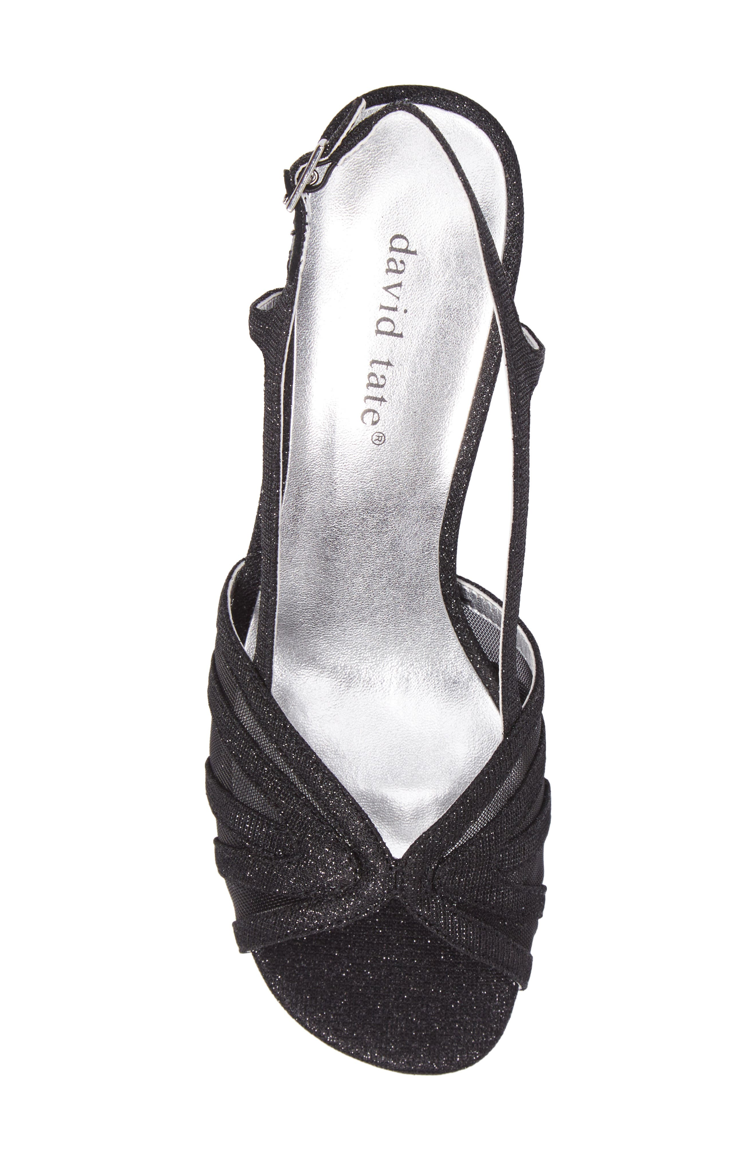 Ritz Slingback Sandal,                             Alternate thumbnail 5, color,                             Black