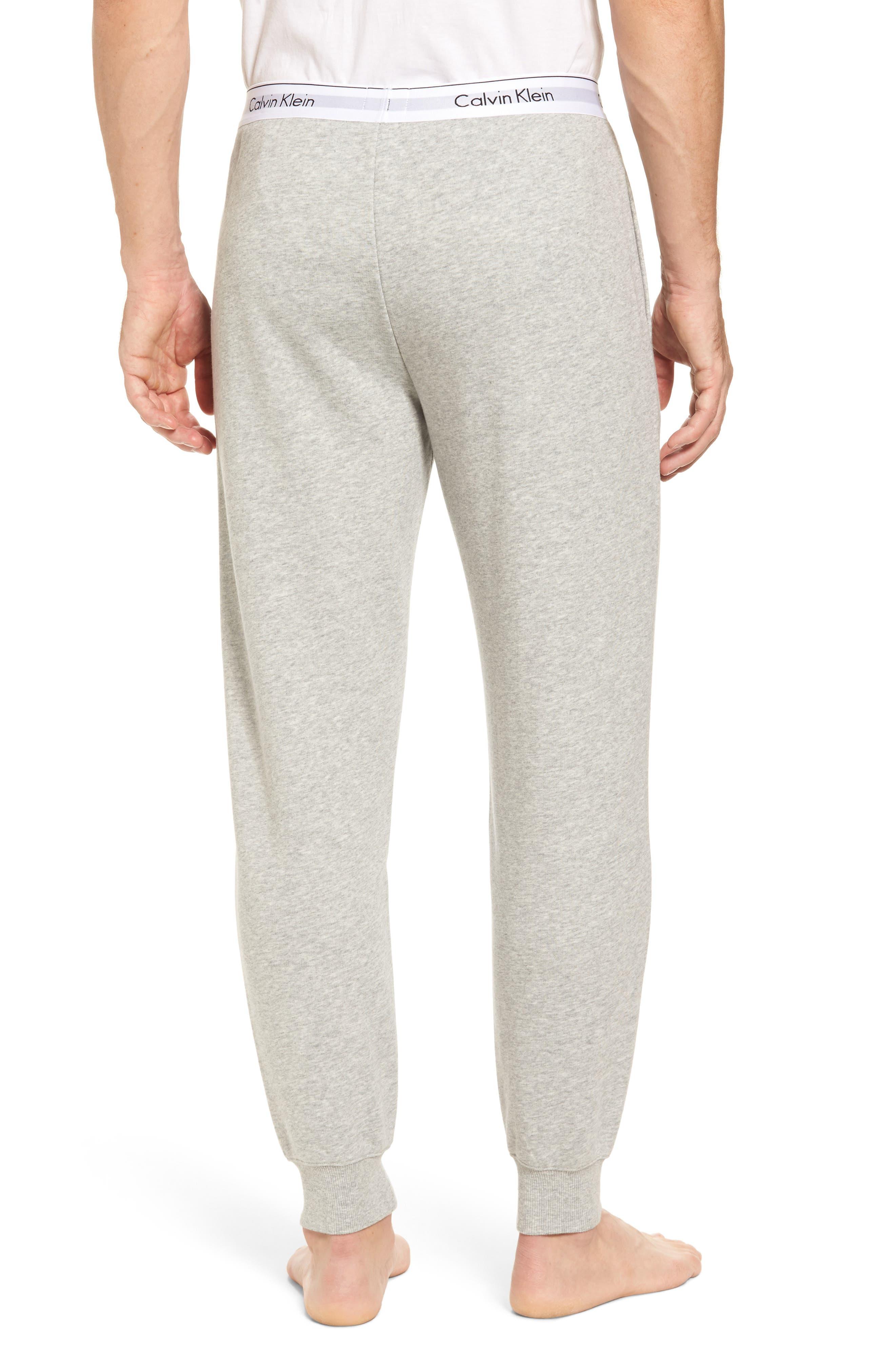 Modern Cotton Blend Lounge Pants,                             Alternate thumbnail 2, color,                             Grey Heather