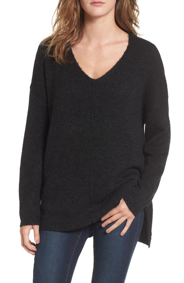 Dreamers by Debut Exposed Seam Tunic Sweater | Nordstrom