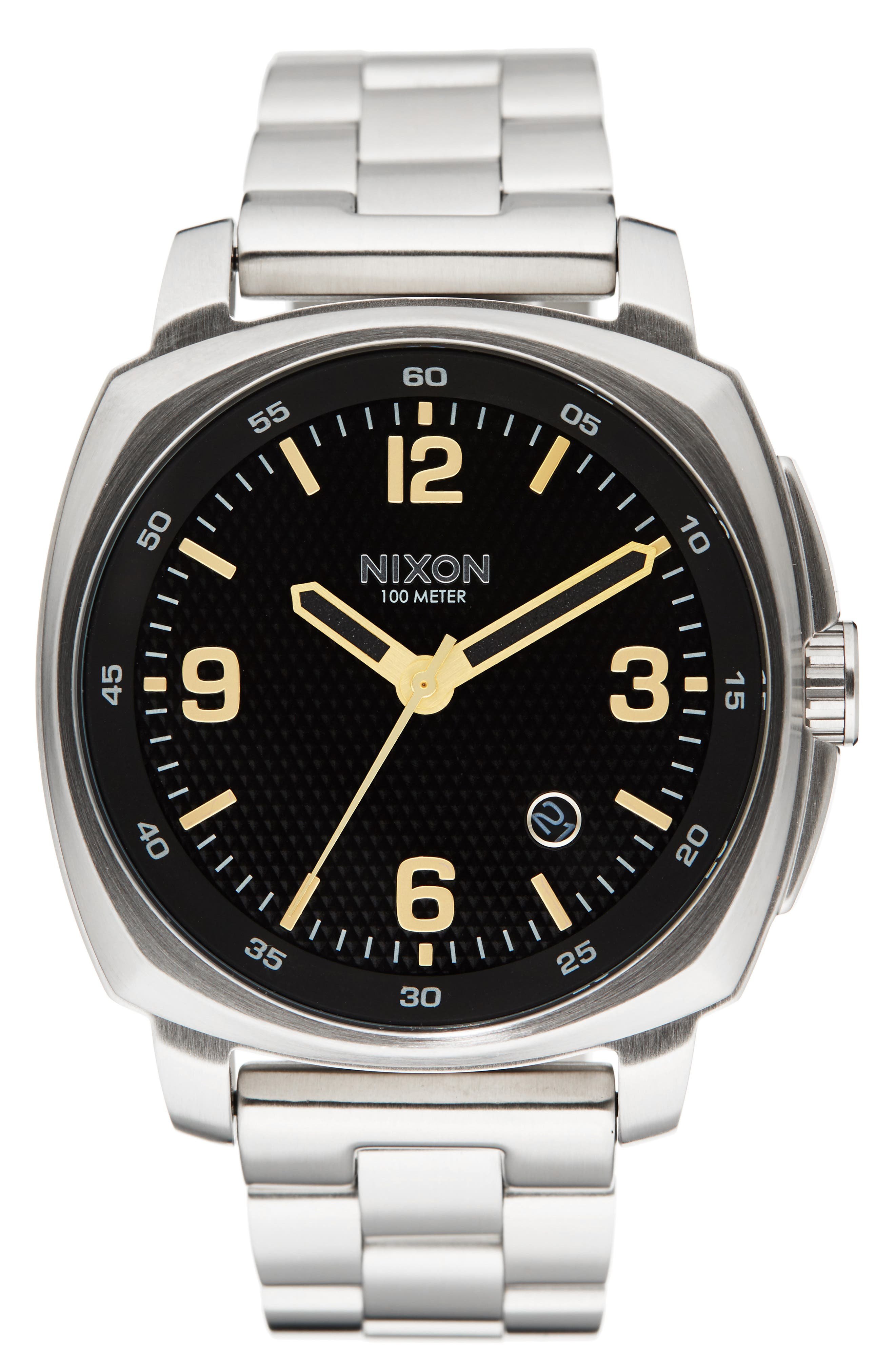 Nixon Charger Bracelet Watch, 42mm