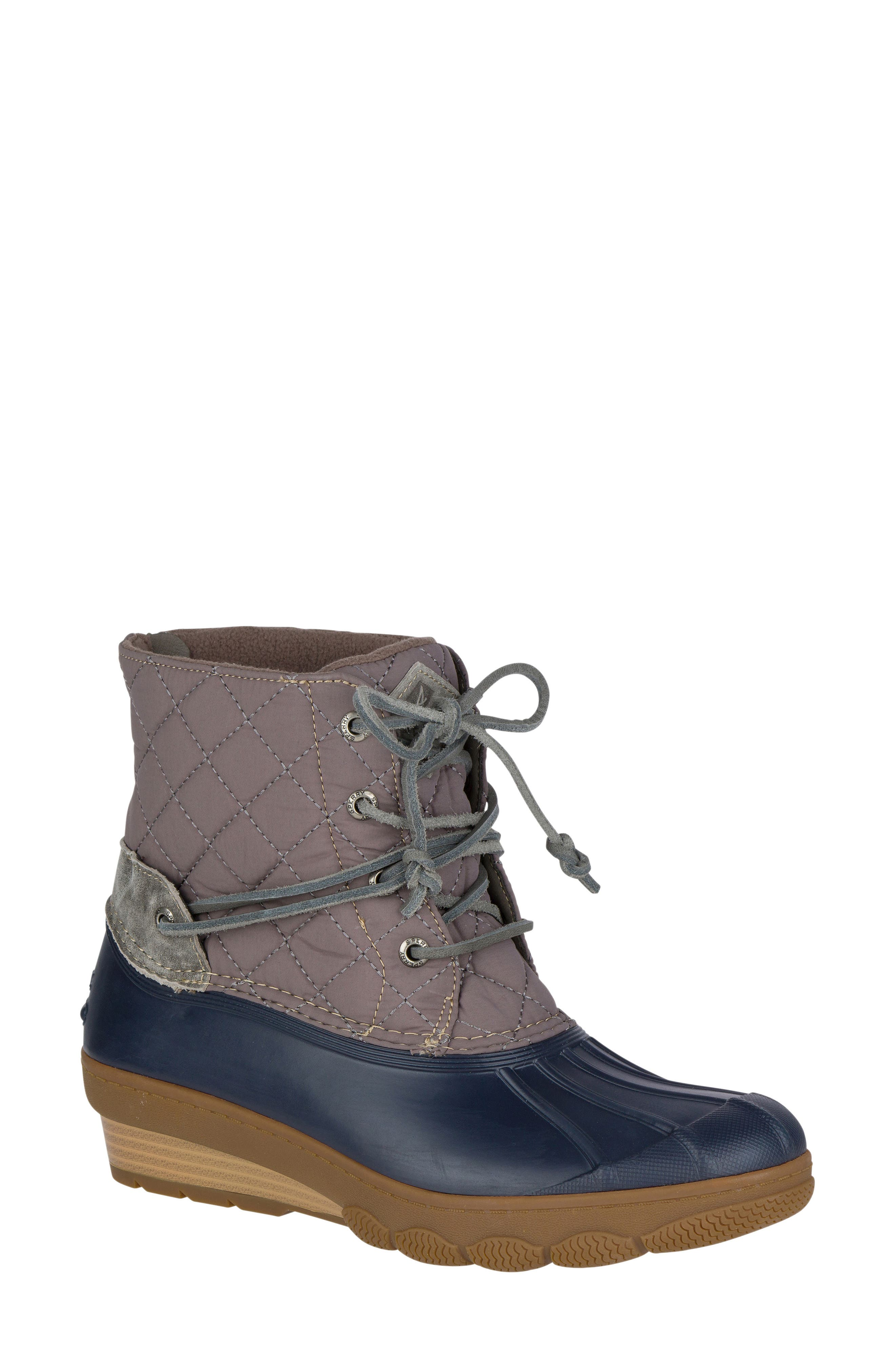 Alternate Image 1 Selected - Sperry Saltwater Quilted Watperproof Boot (Women)