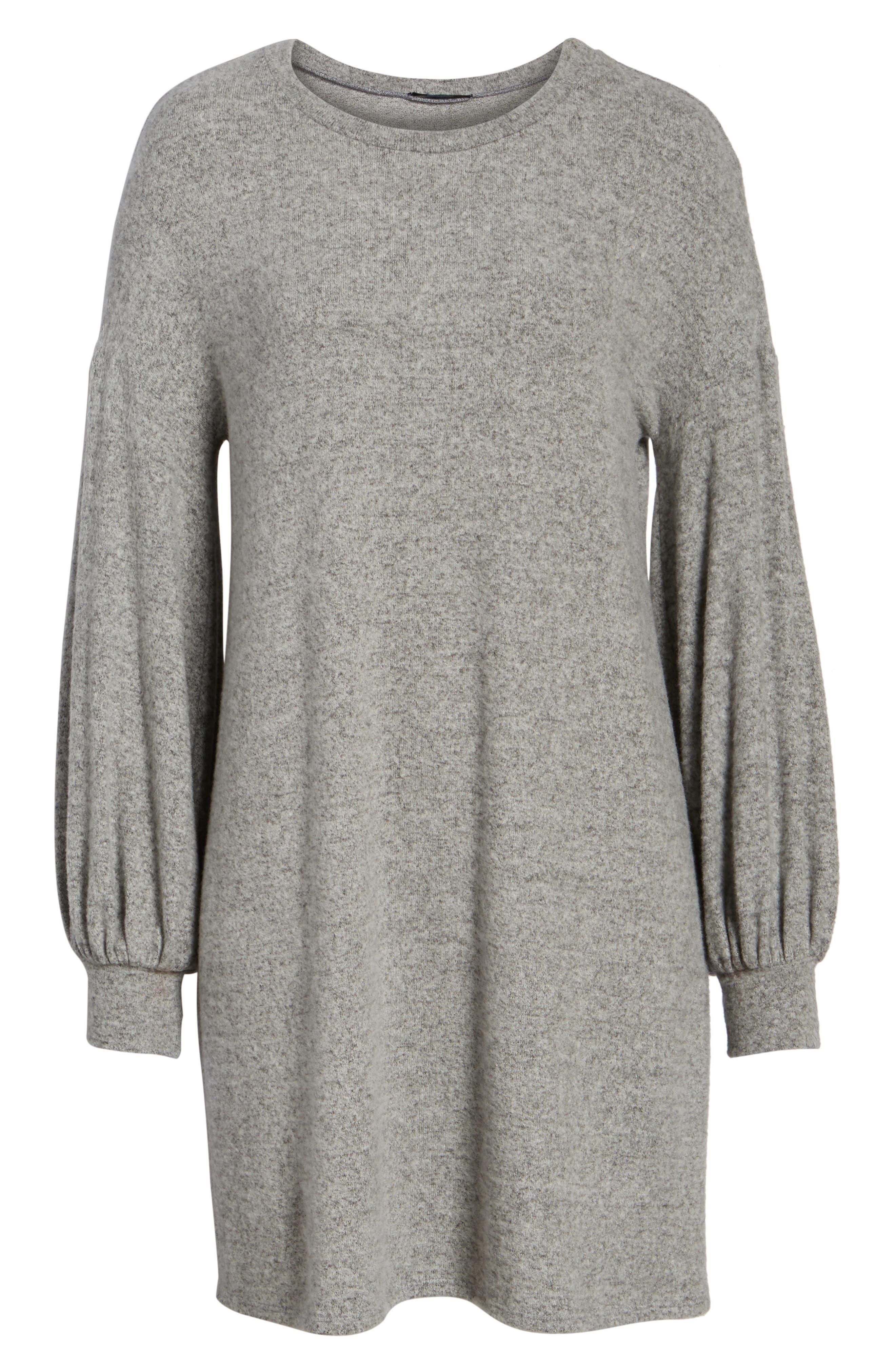Alternate Image 6  - Soprano Balloon Sleeve Sweater Dress
