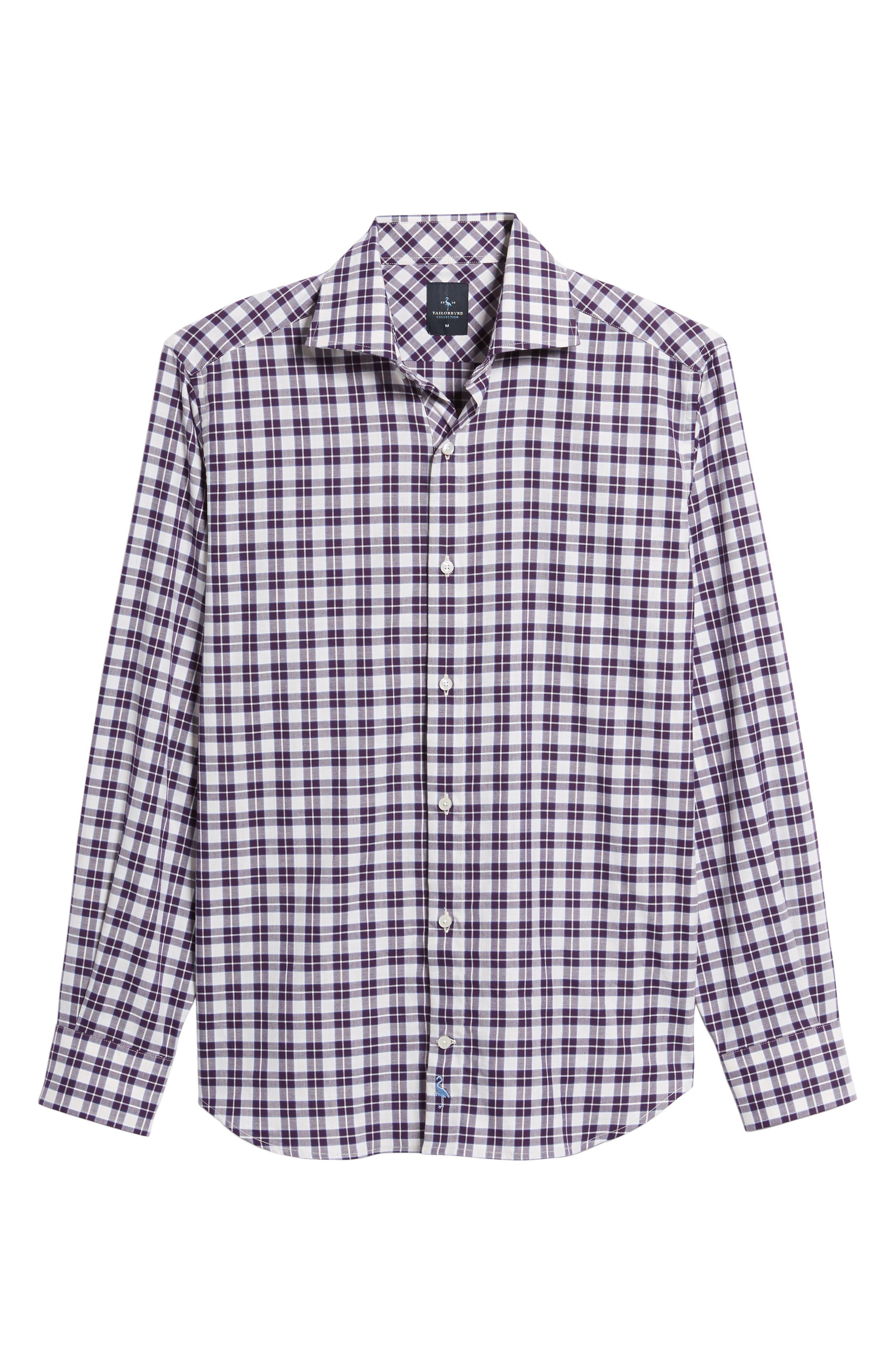 Alternate Image 6  - TailorByrd Chalmette Check Twill Sport Shirt