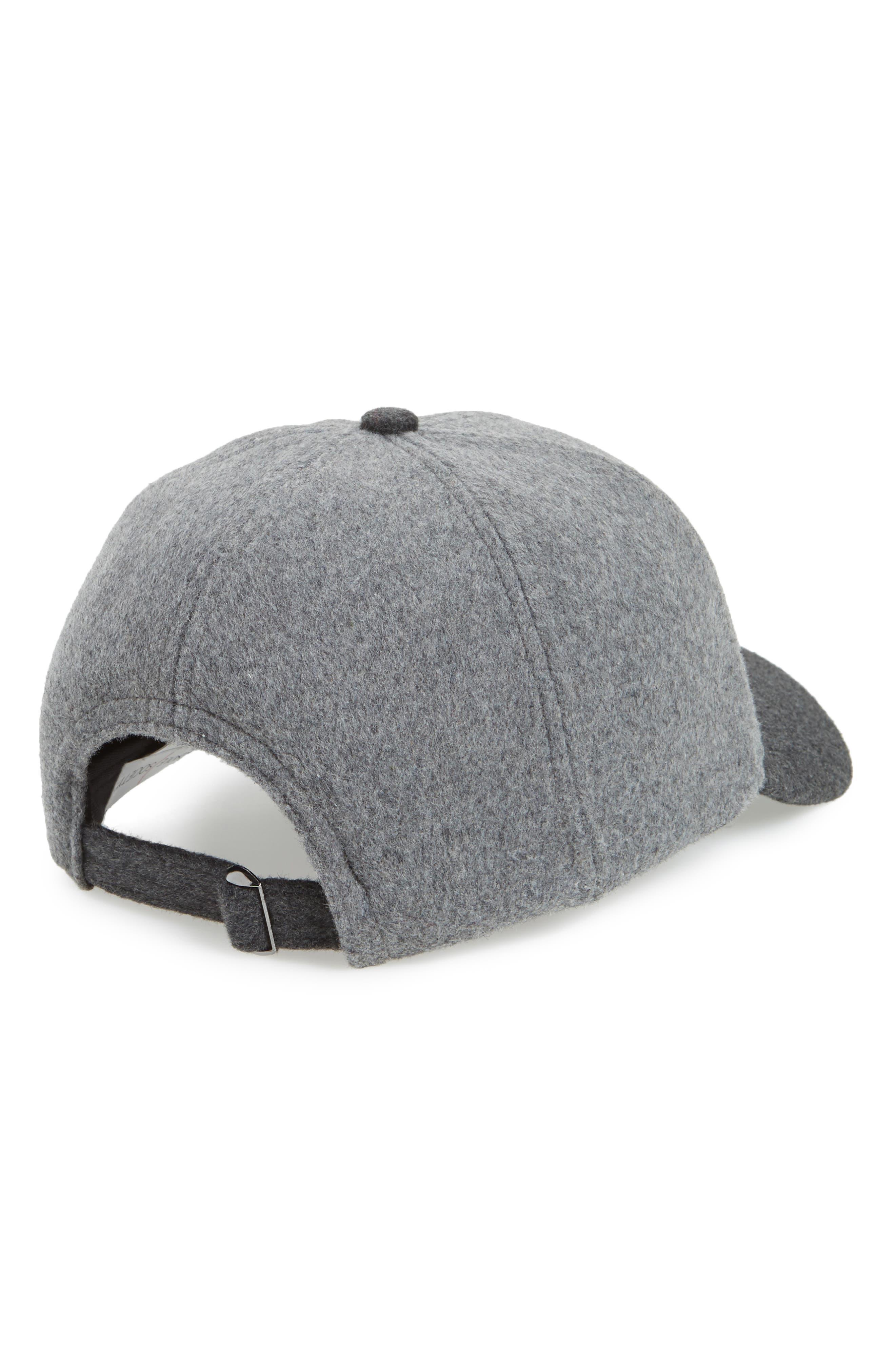 Two-Tone Baseball Cap,                             Alternate thumbnail 2, color,                             Grey Combo