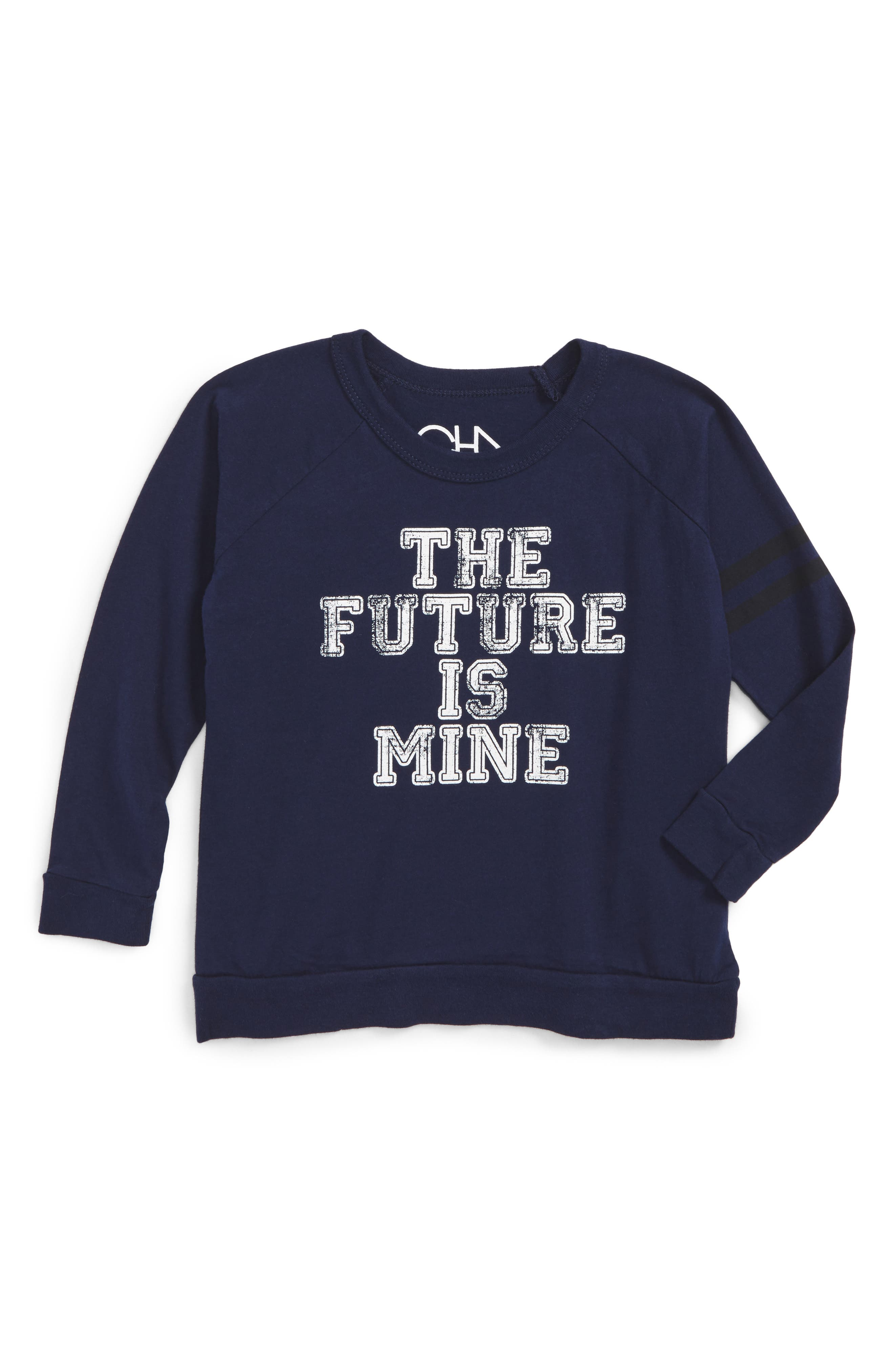 Chaser Future is Mine Graphic Long Sleeve T-Shirt (Toddler Boys, Little Boys & Big Boys)