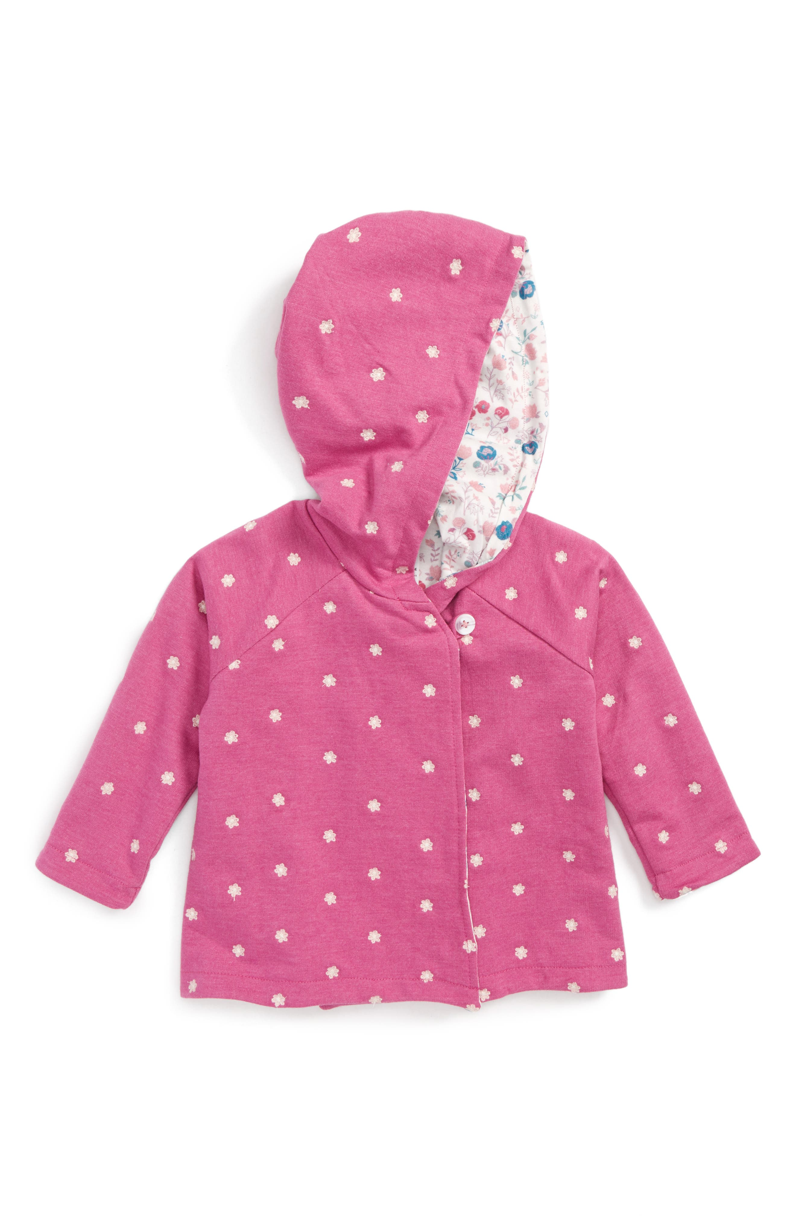 Embroidered Hoodie,                         Main,                         color, Perfect Floral