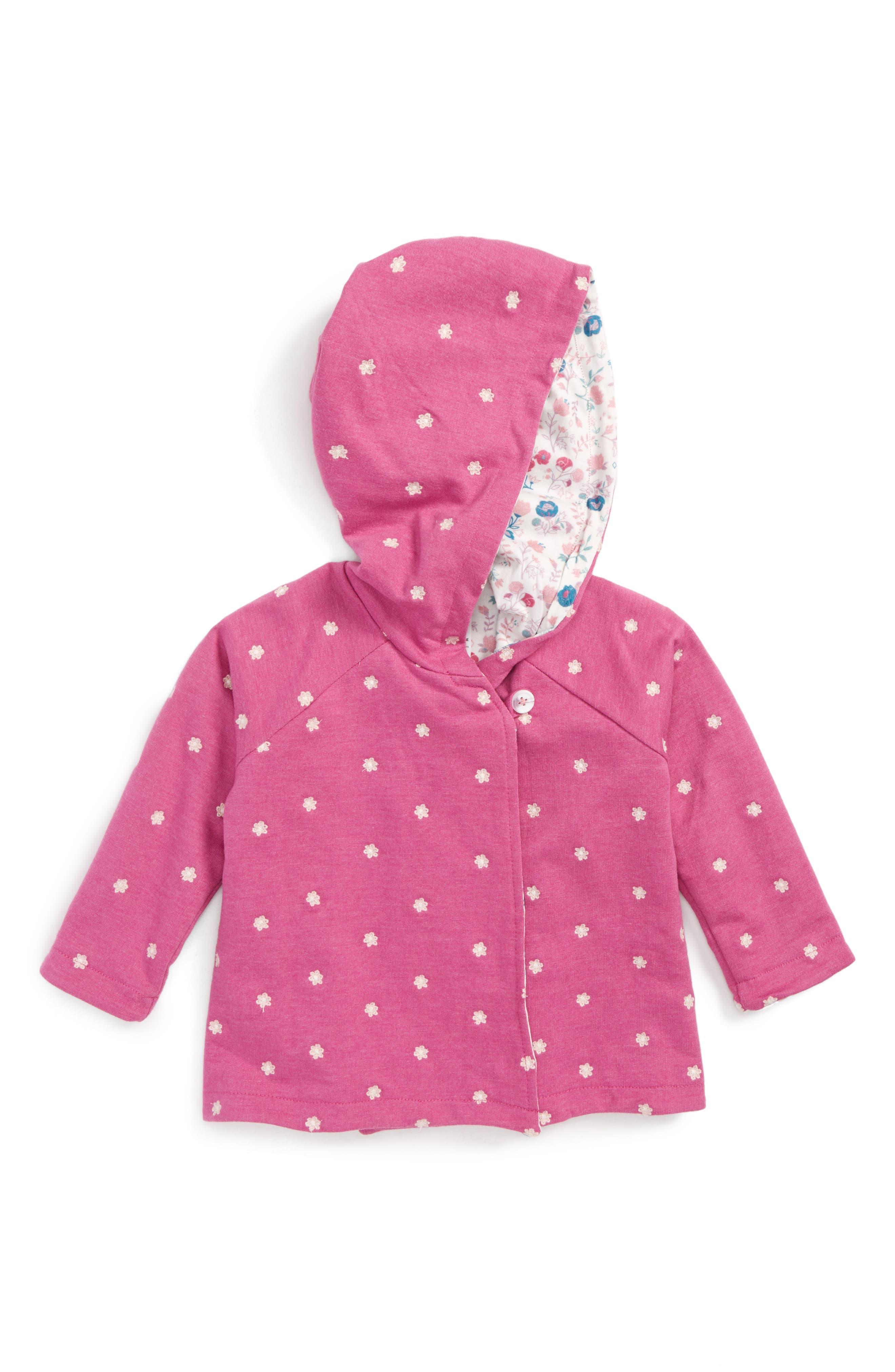 Hatley Embroidered Hoodie (Baby Girls)