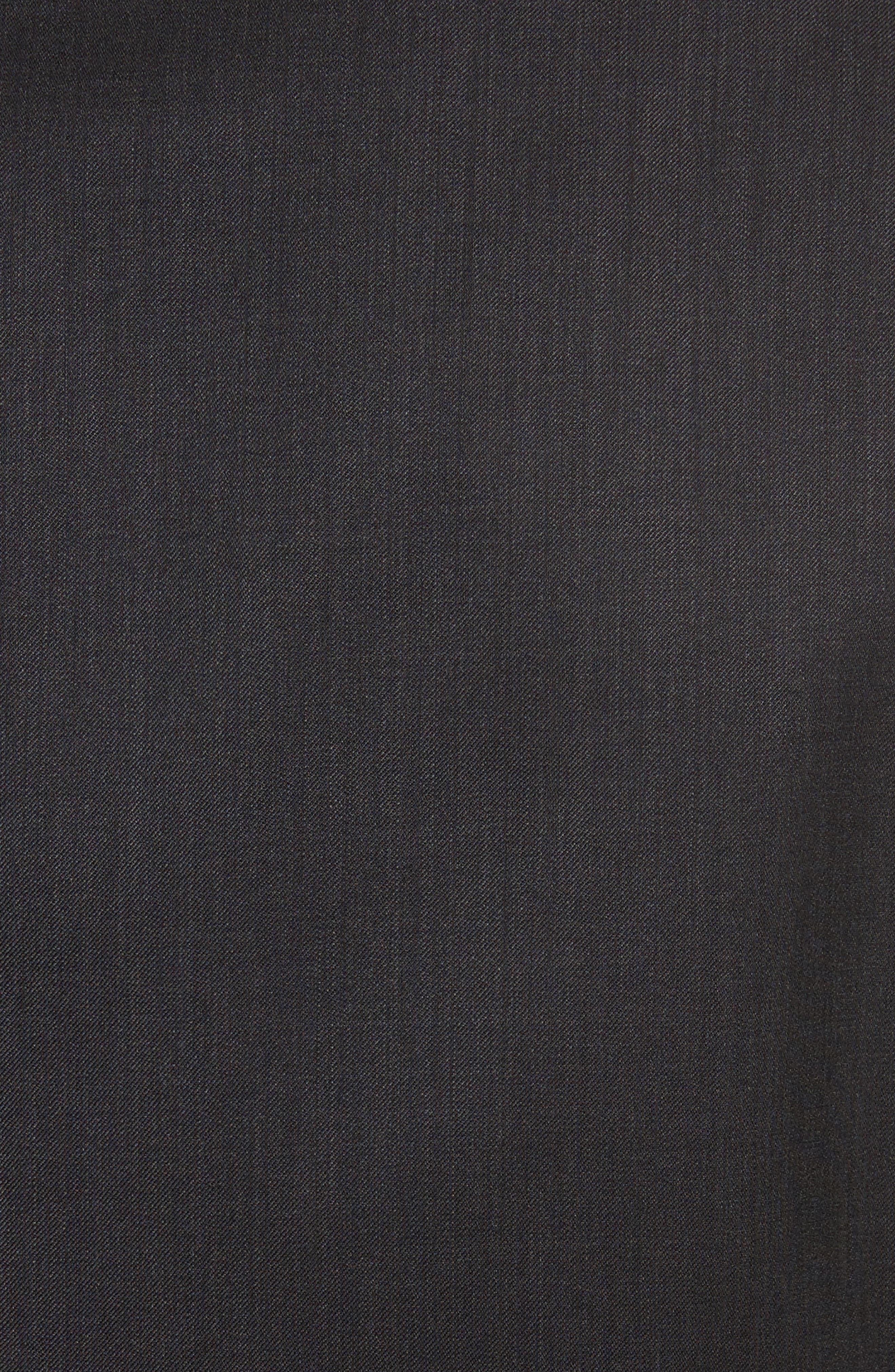 'G-Line' Trim Fit Solid Wool Suit,                             Alternate thumbnail 7, color,                             Charcoal