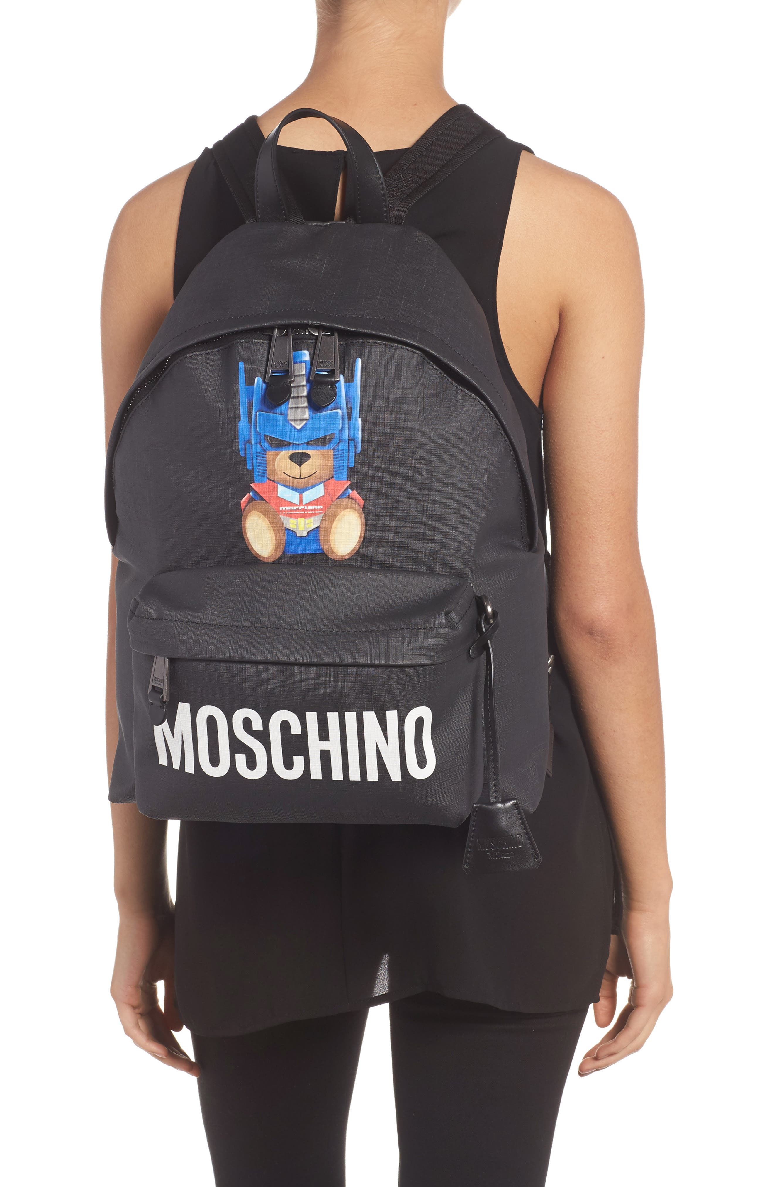 Alternate Image 2  - Moschino Transformer Bear Pouch