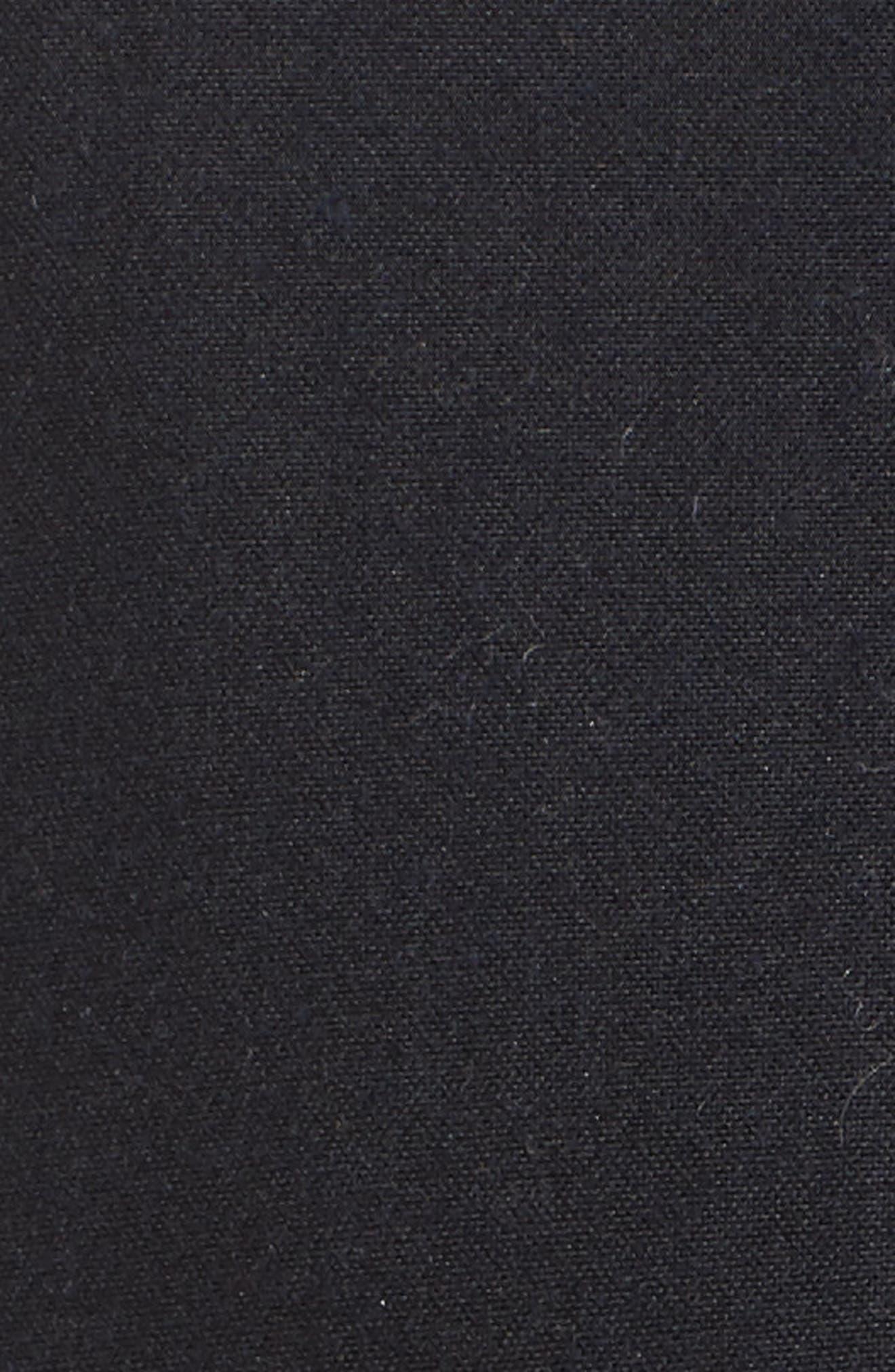 Selsey Waxed Canvas Hooded Jacket,                             Alternate thumbnail 5, color,                             Royal Navy