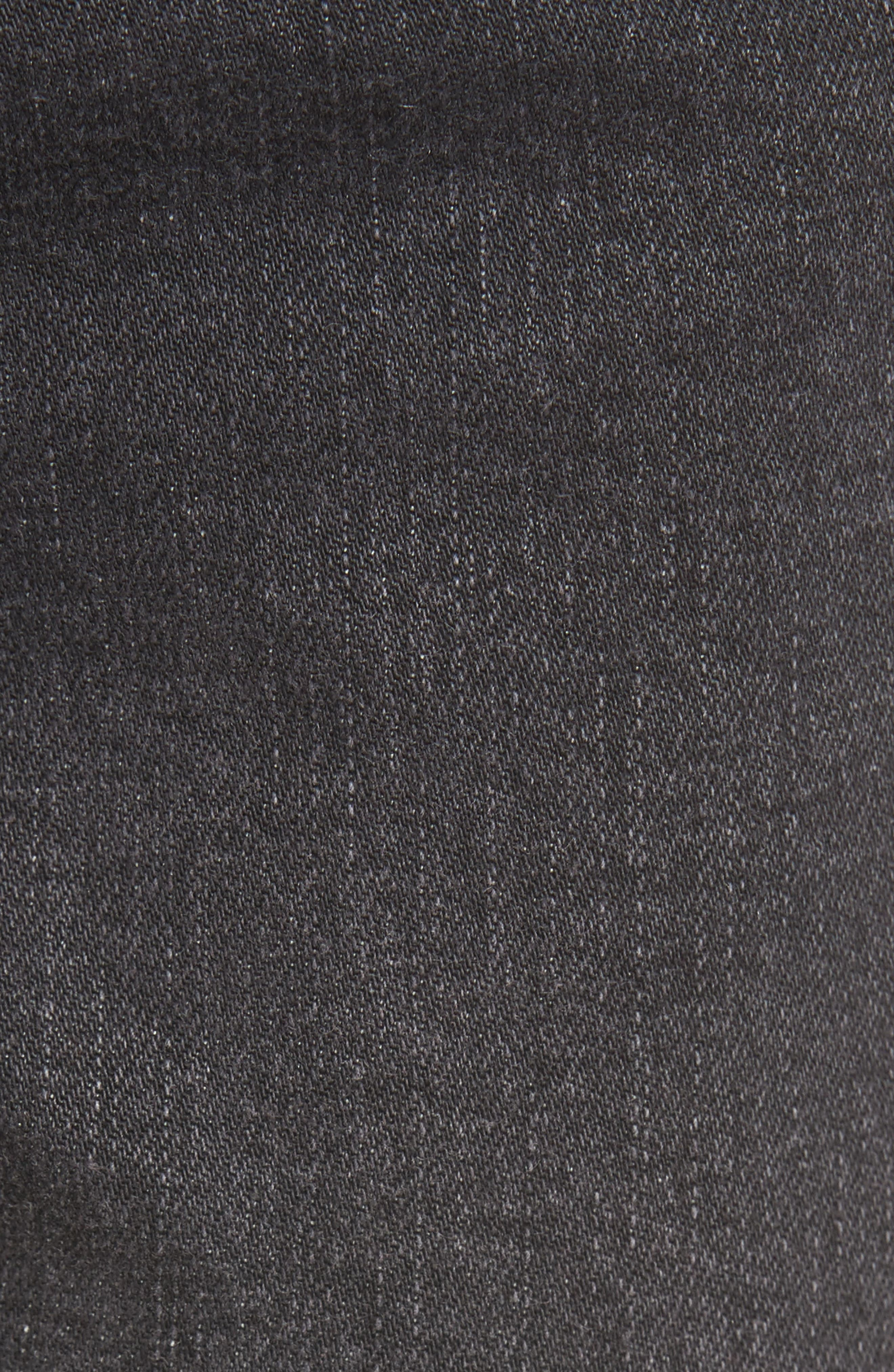 Alternate Image 6  - EVIDNT Hermosa Fray Hem Ankle Skinny Jeans