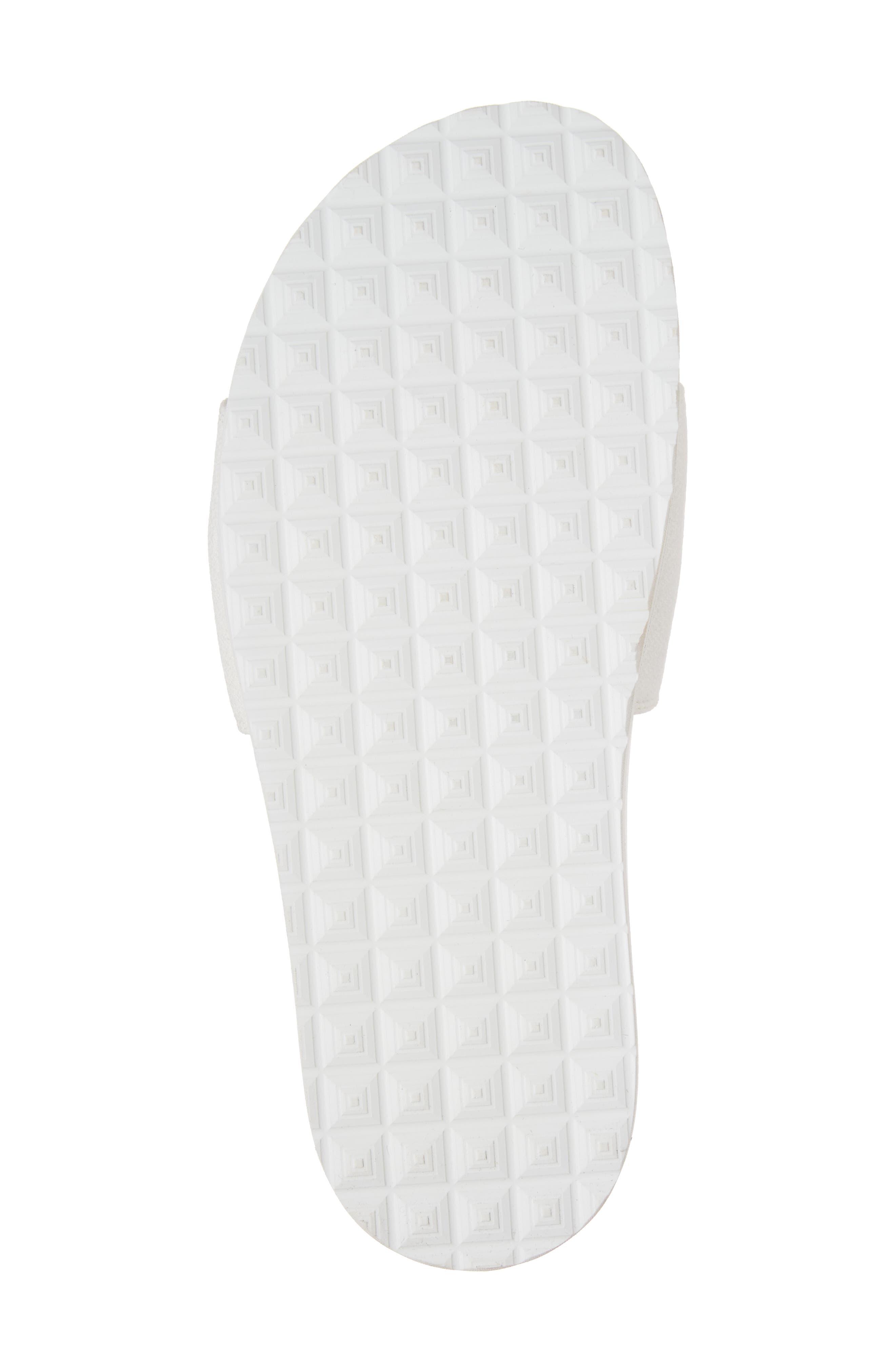 Alternate Image 6  - Buscemi Crepone Feather Slide Sandal (Women)