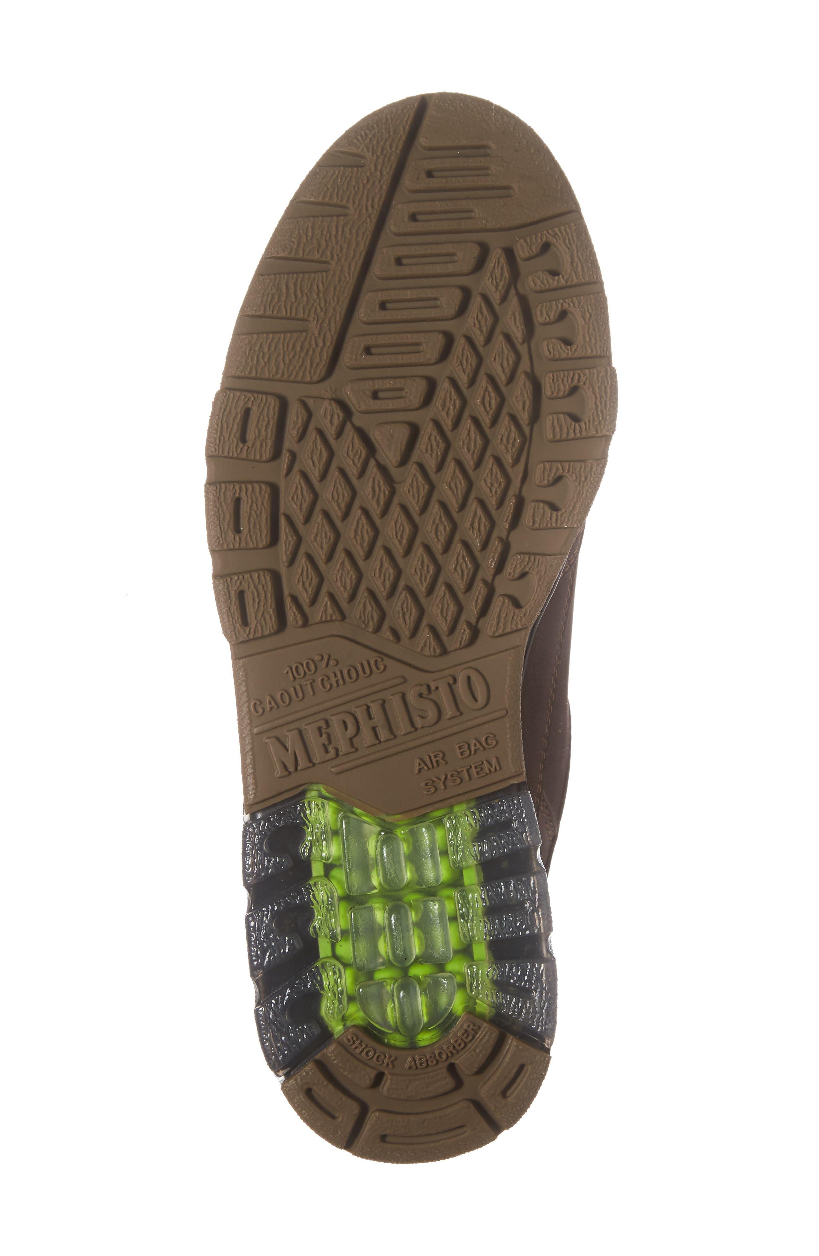 Natasha Sneaker,                             Alternate thumbnail 6, color,                             Dark Brown Leather