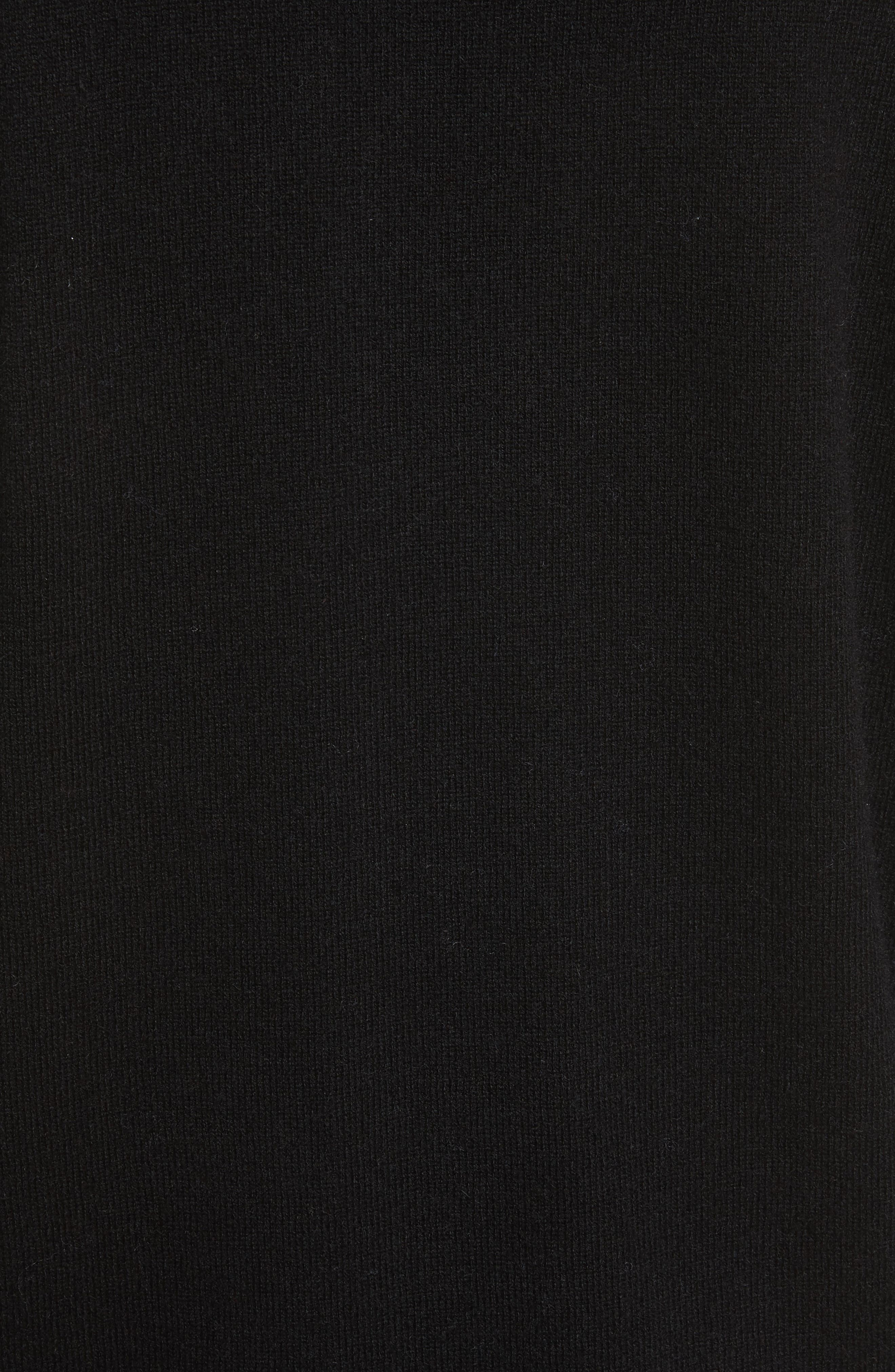 Alternate Image 5  - Allude Merino Wool & Cashmere Surplice Sweater
