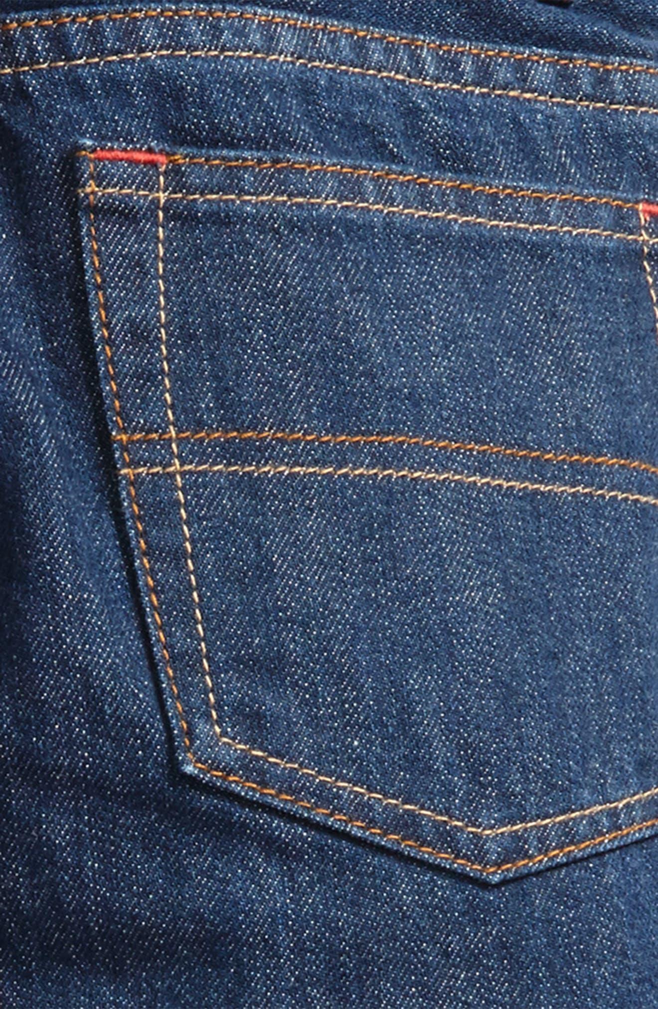 Alternate Image 3  - Mini Boden Straight Leg Jeans (Toddler Boys, Little Boys & Big Boys)