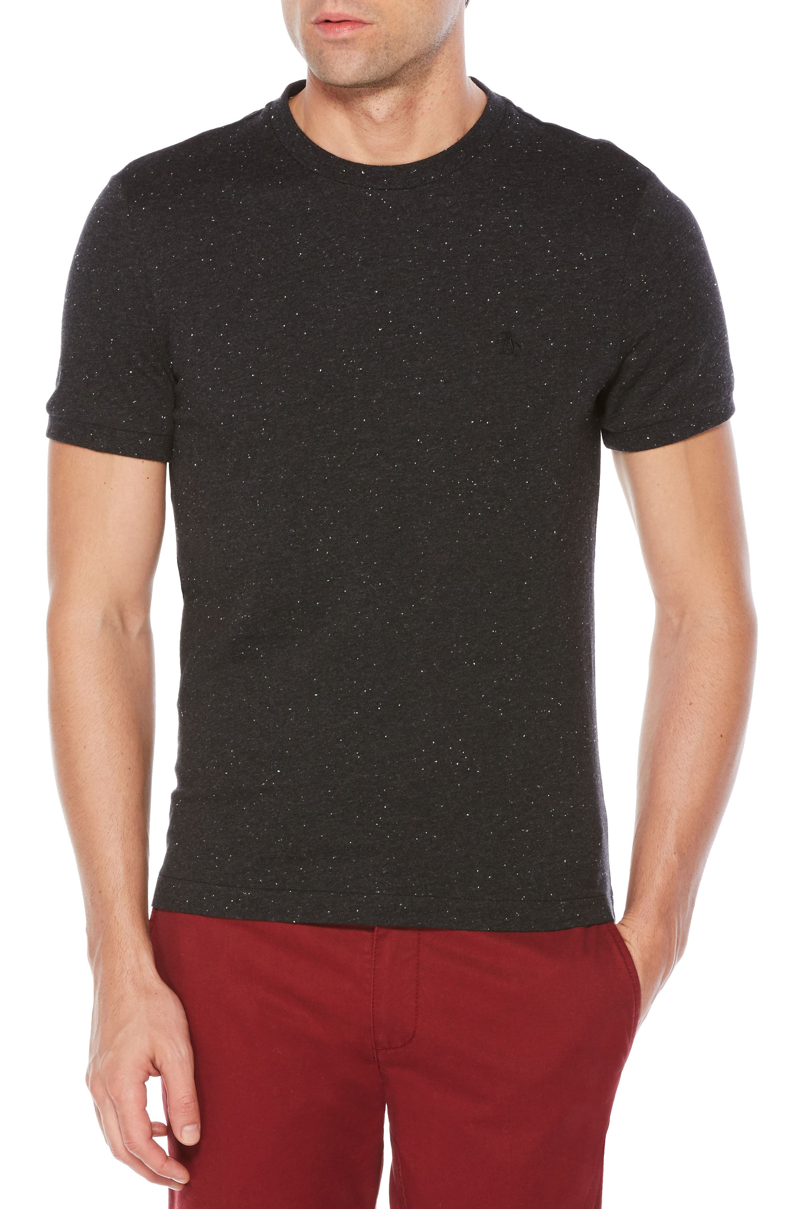 Original Penguin Nep Speckled T-Shirt