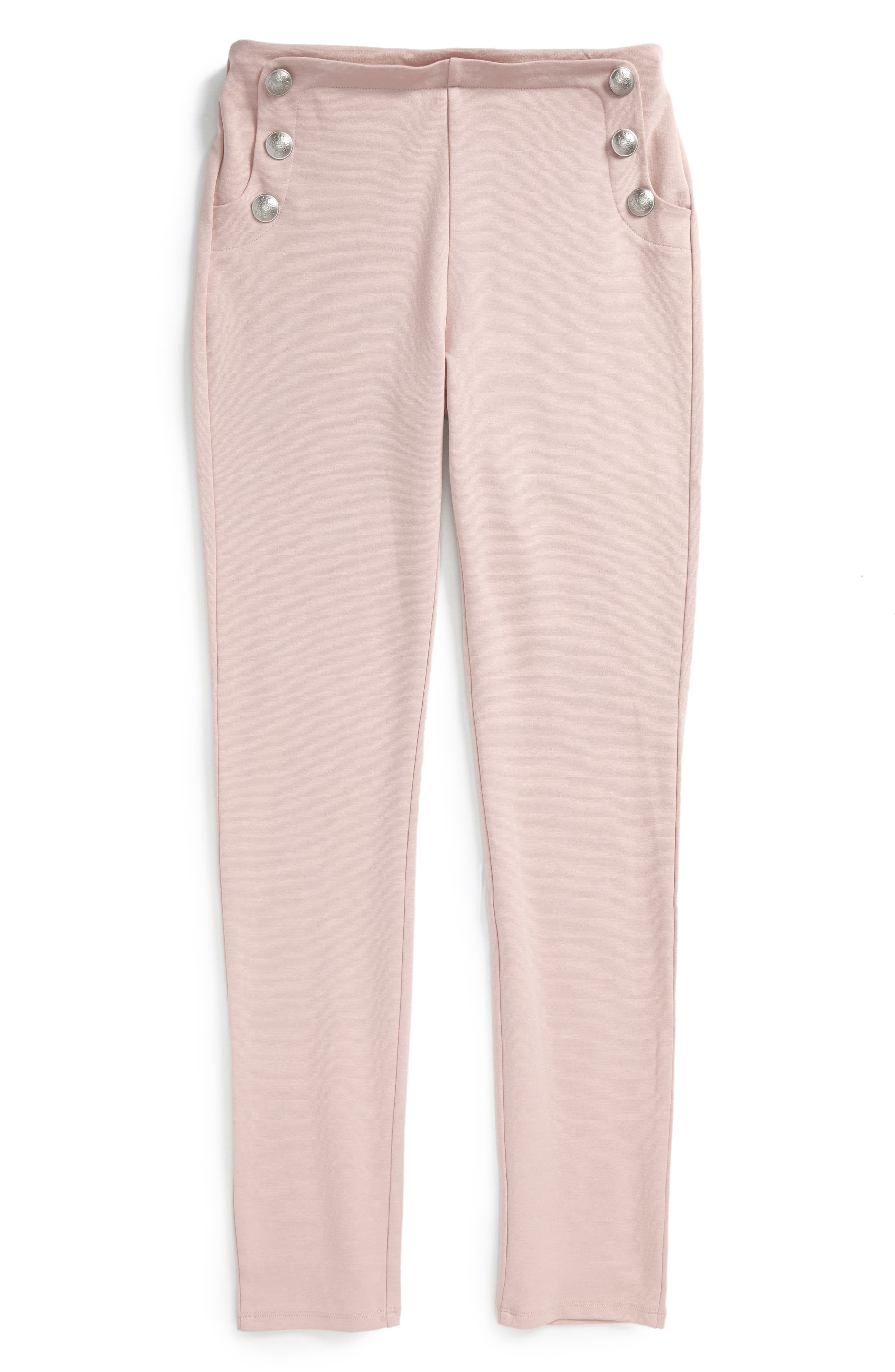 Bardot Junior Button Ponte Pants (Big Girls)