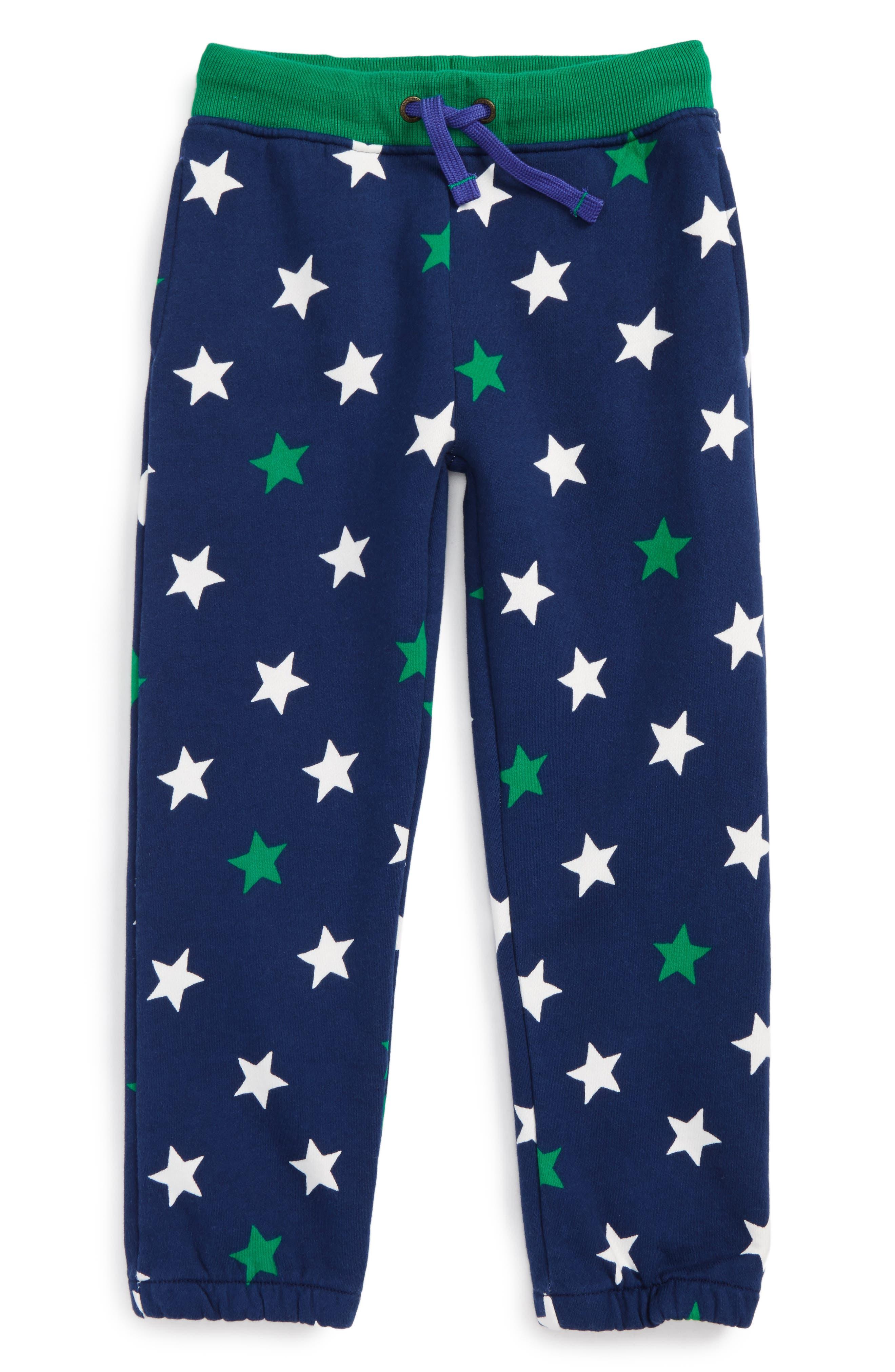 Fun Track Pants,                         Main,                         color, Beacon Blue Star