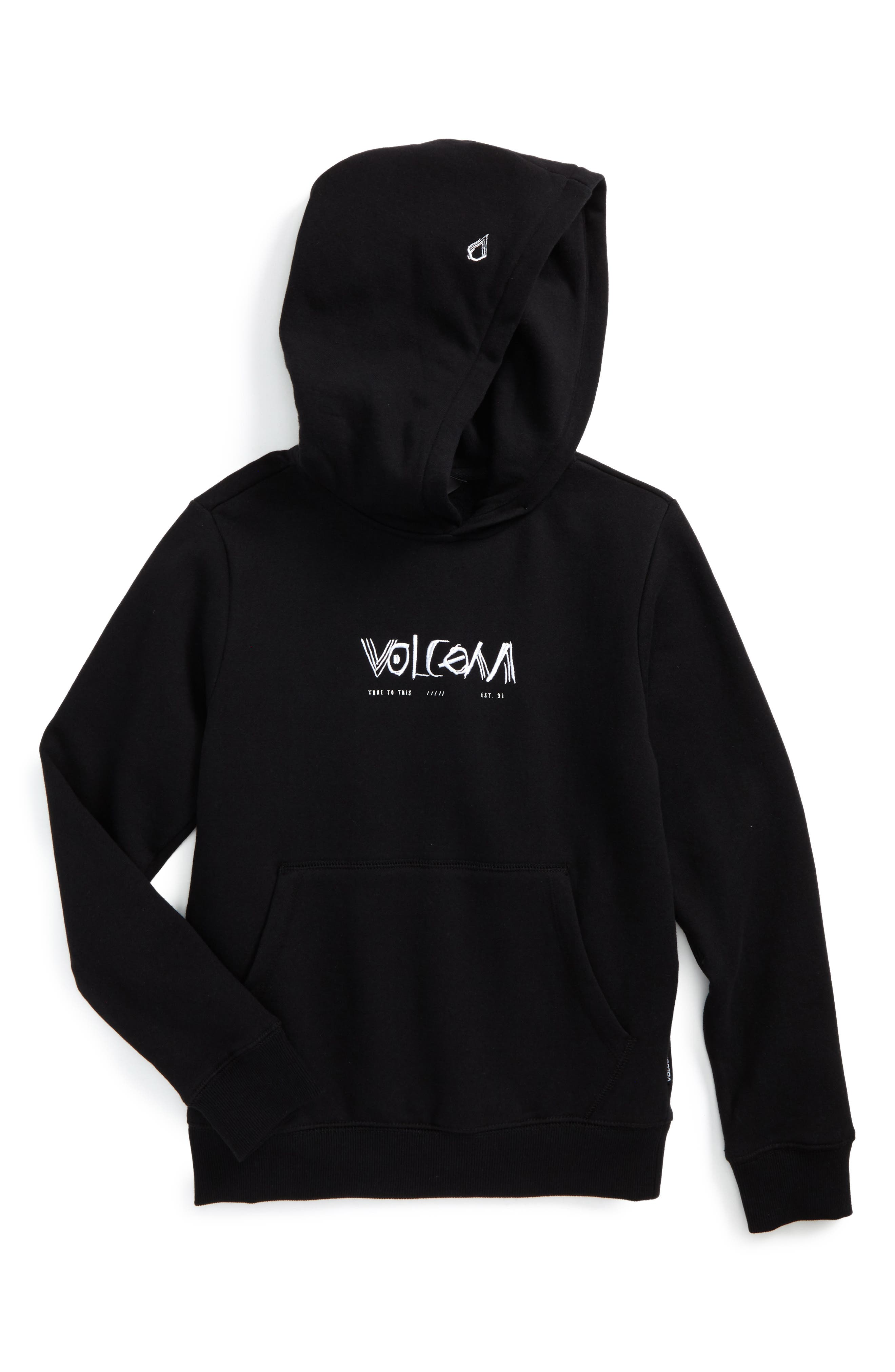 Alternate Image 1 Selected - Volcom Supply Stone Hoodie (Big Boys)