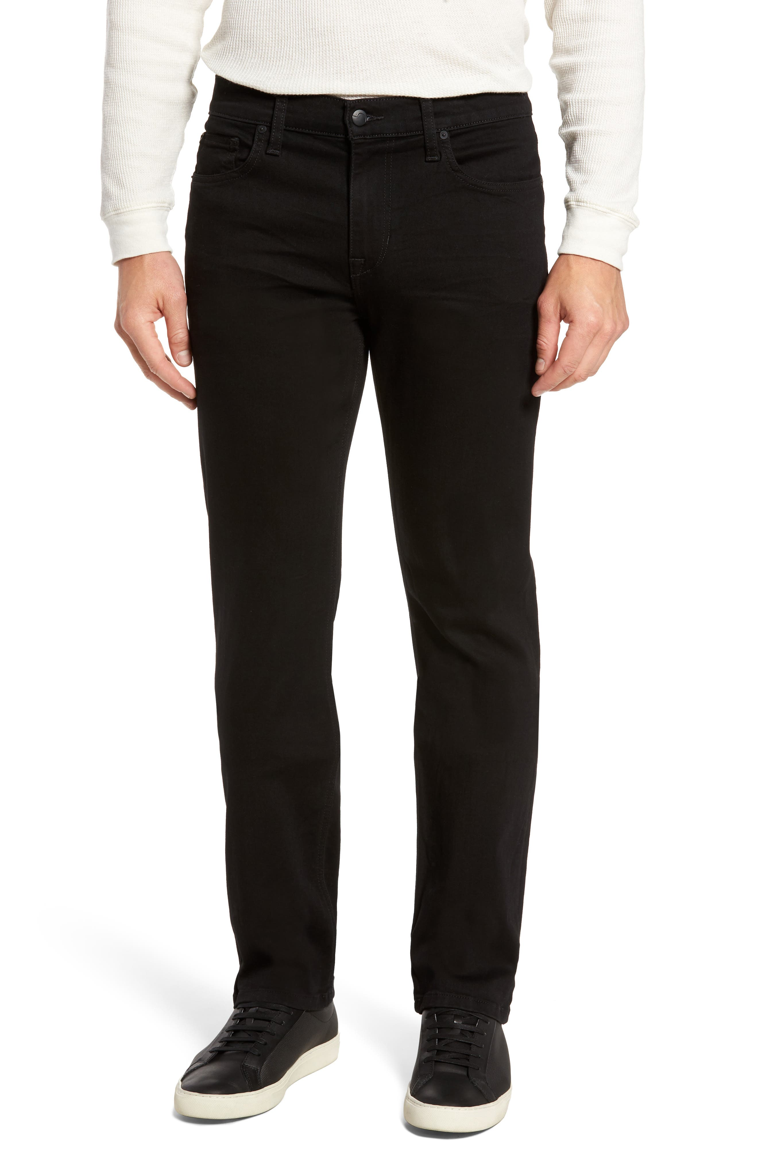 Classic Straight Fit Jeans,                         Main,                         color, Griffith