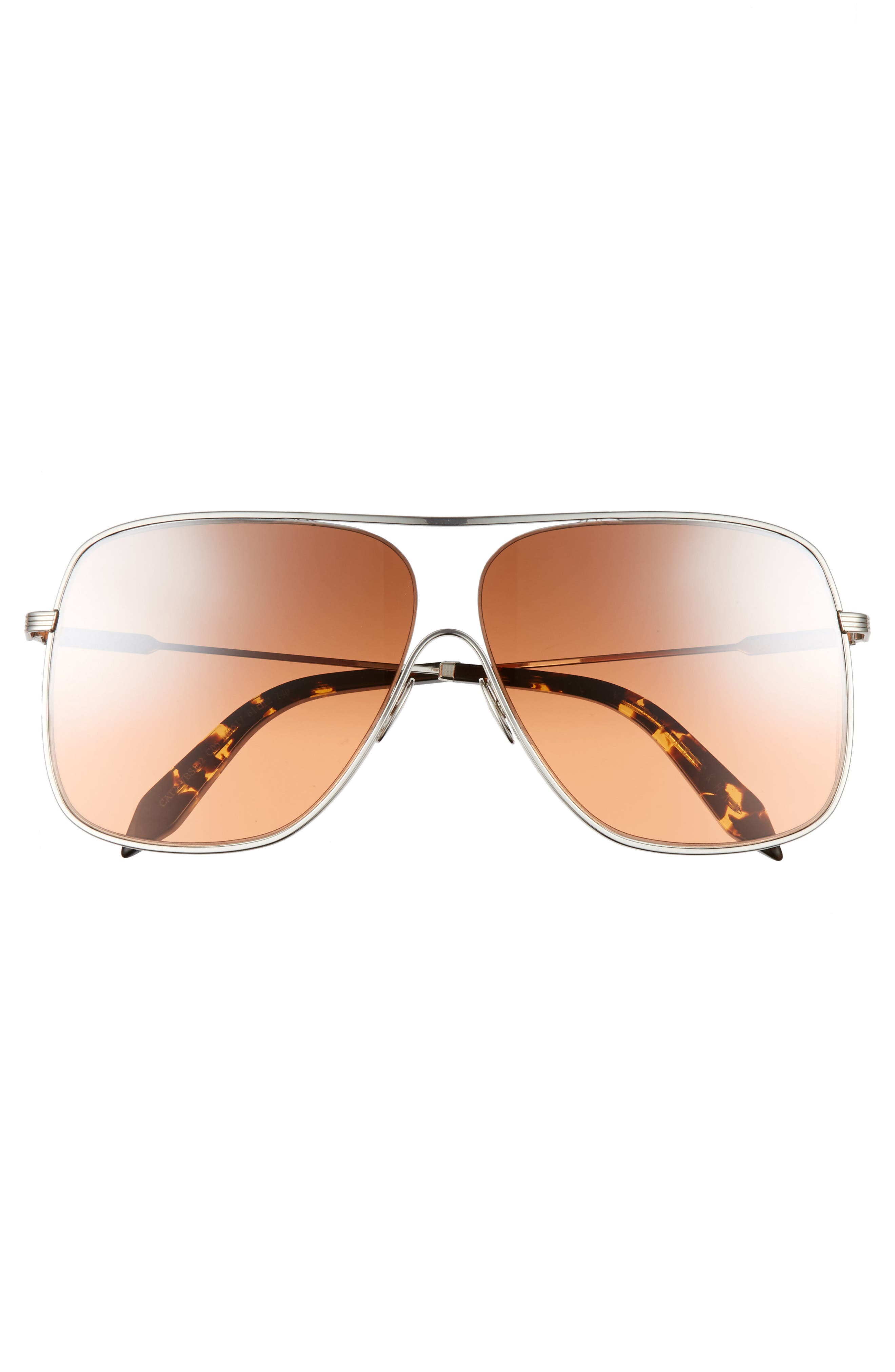 Alternate Image 3  - Victoria Beckham Loop 61mm Navigator Sunglasses