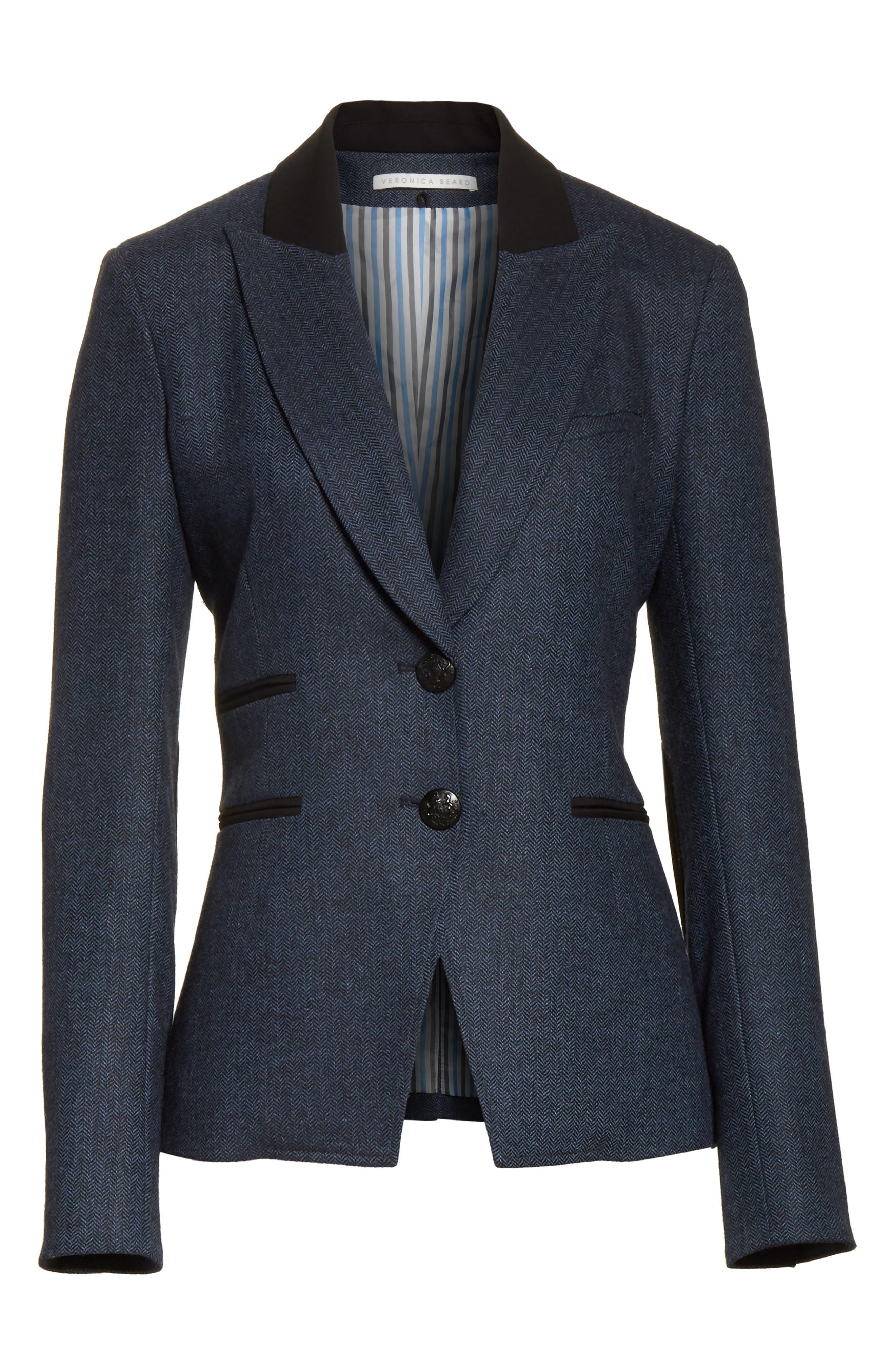 Hudson Jacket,                             Alternate thumbnail 6, color,                             Blue