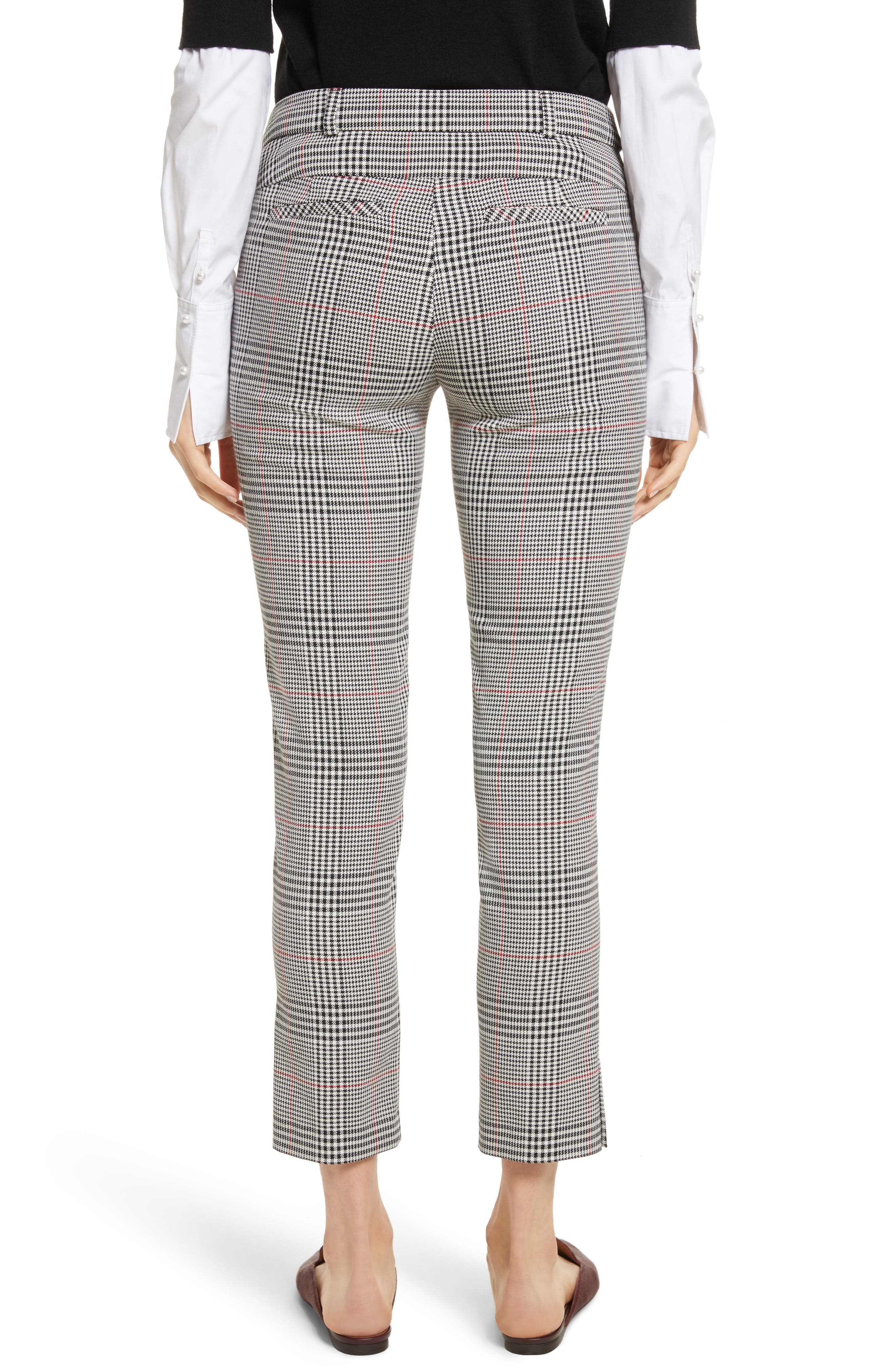 Farrow Pants,                             Alternate thumbnail 2, color,                             White/ Black/ Red