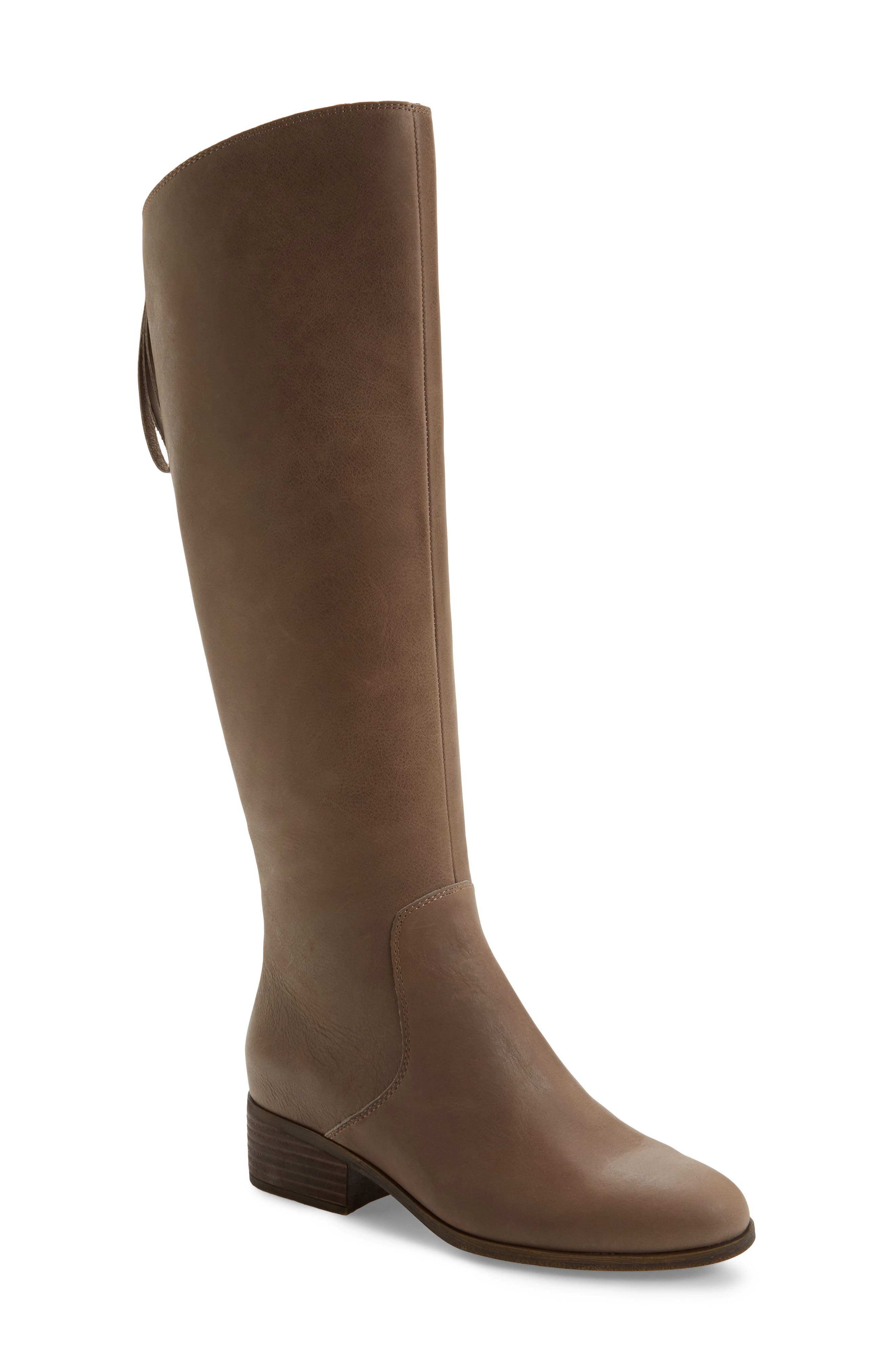 Lucky Brand Lanesha Over the Knee Boot (Women)