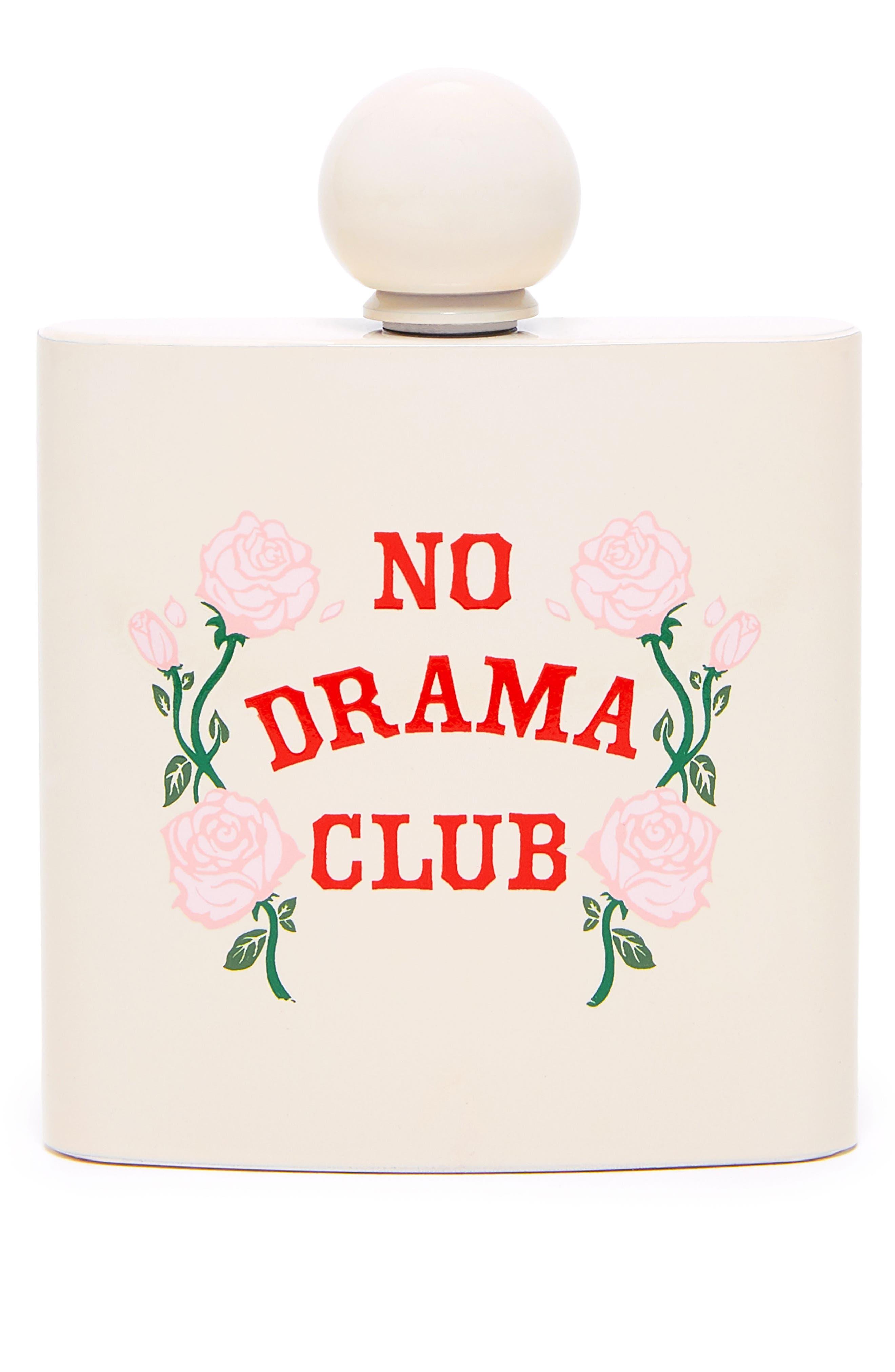 No Drama Club Flask,                         Main,                         color, Beige