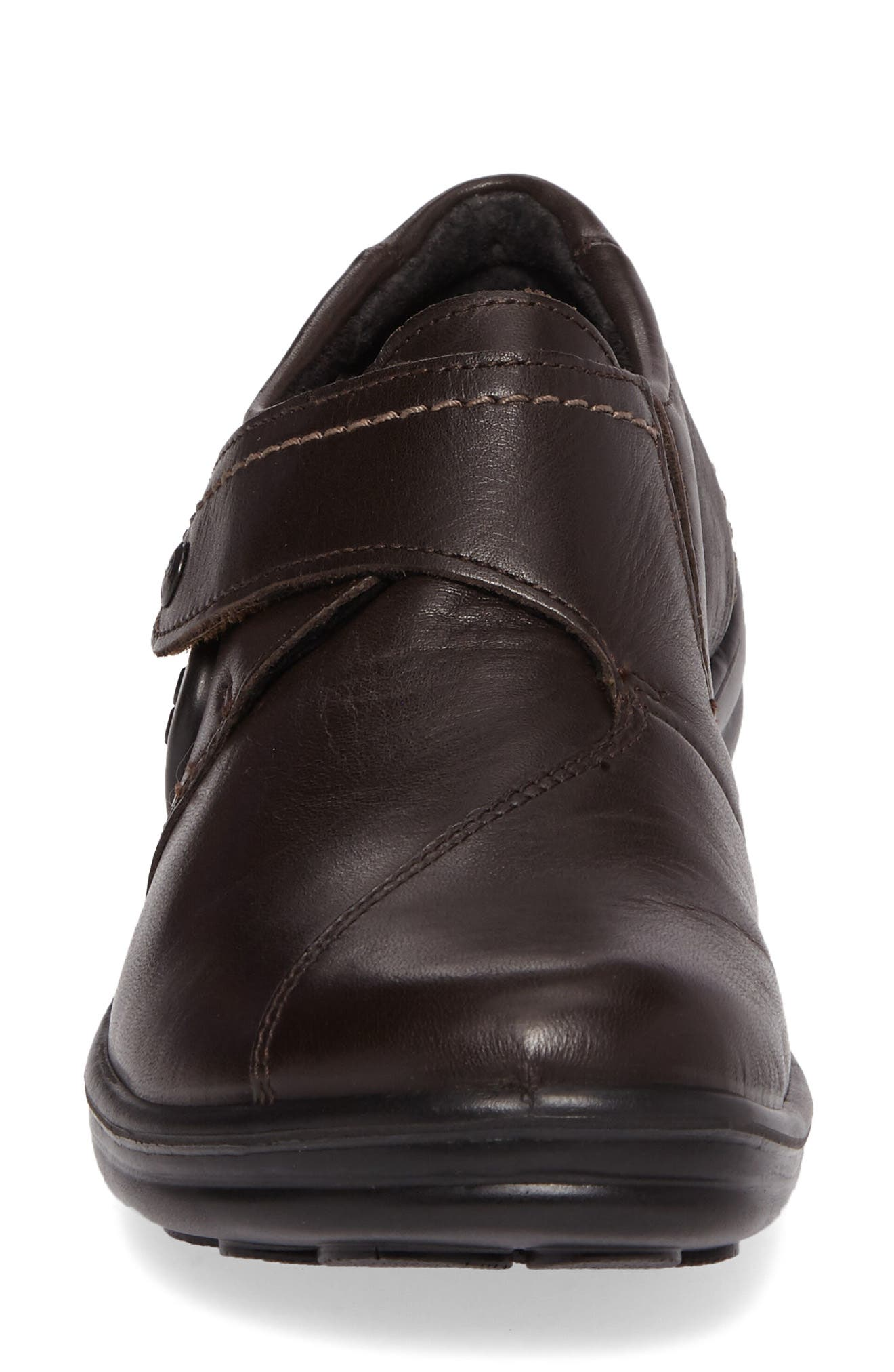 'Maddy 04' Slip-On Flat,                             Alternate thumbnail 4, color,                             Moro Leather