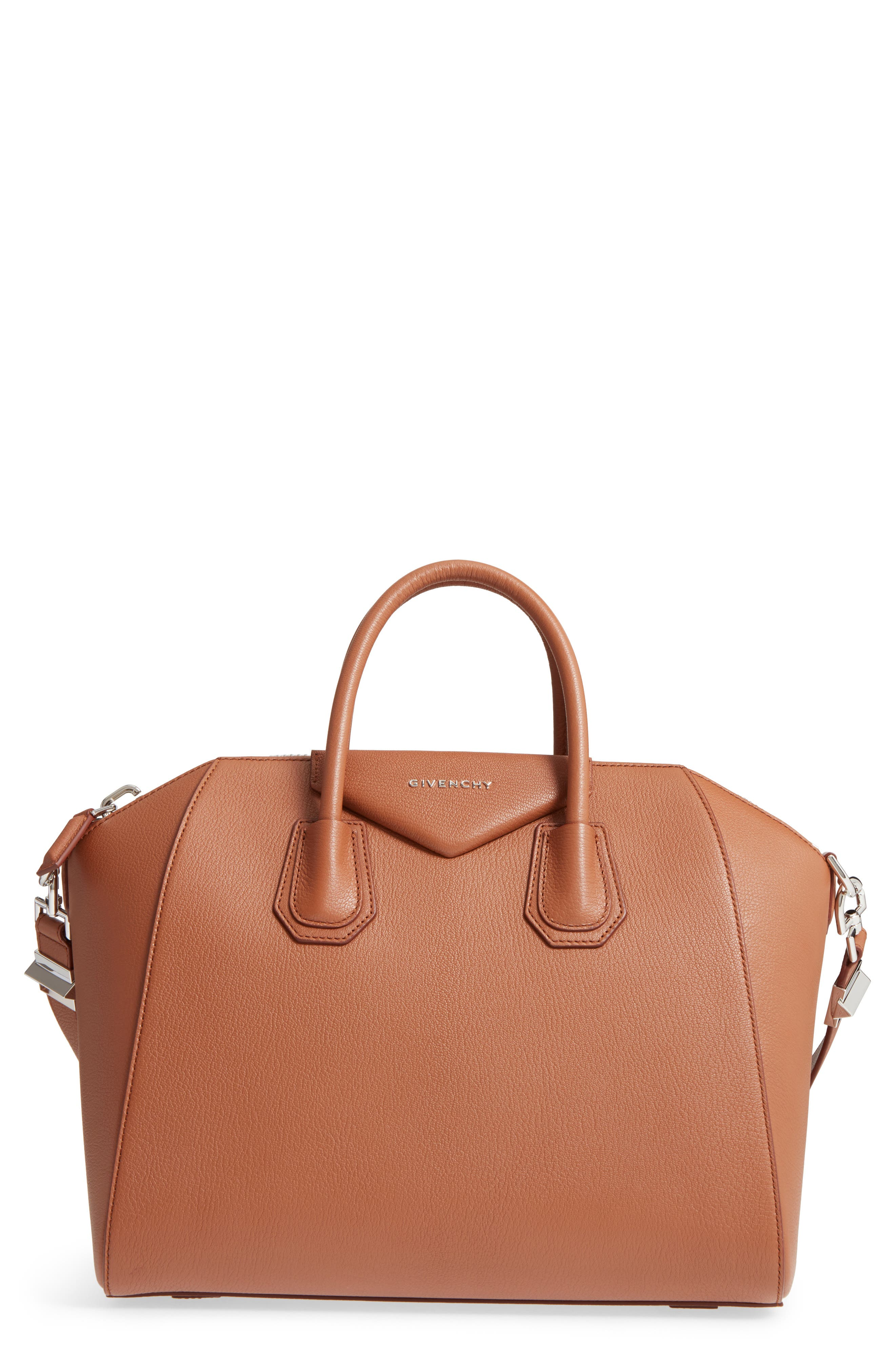 Main Image - Givenchy 'Medium Antigona' Sugar Leather Satchel
