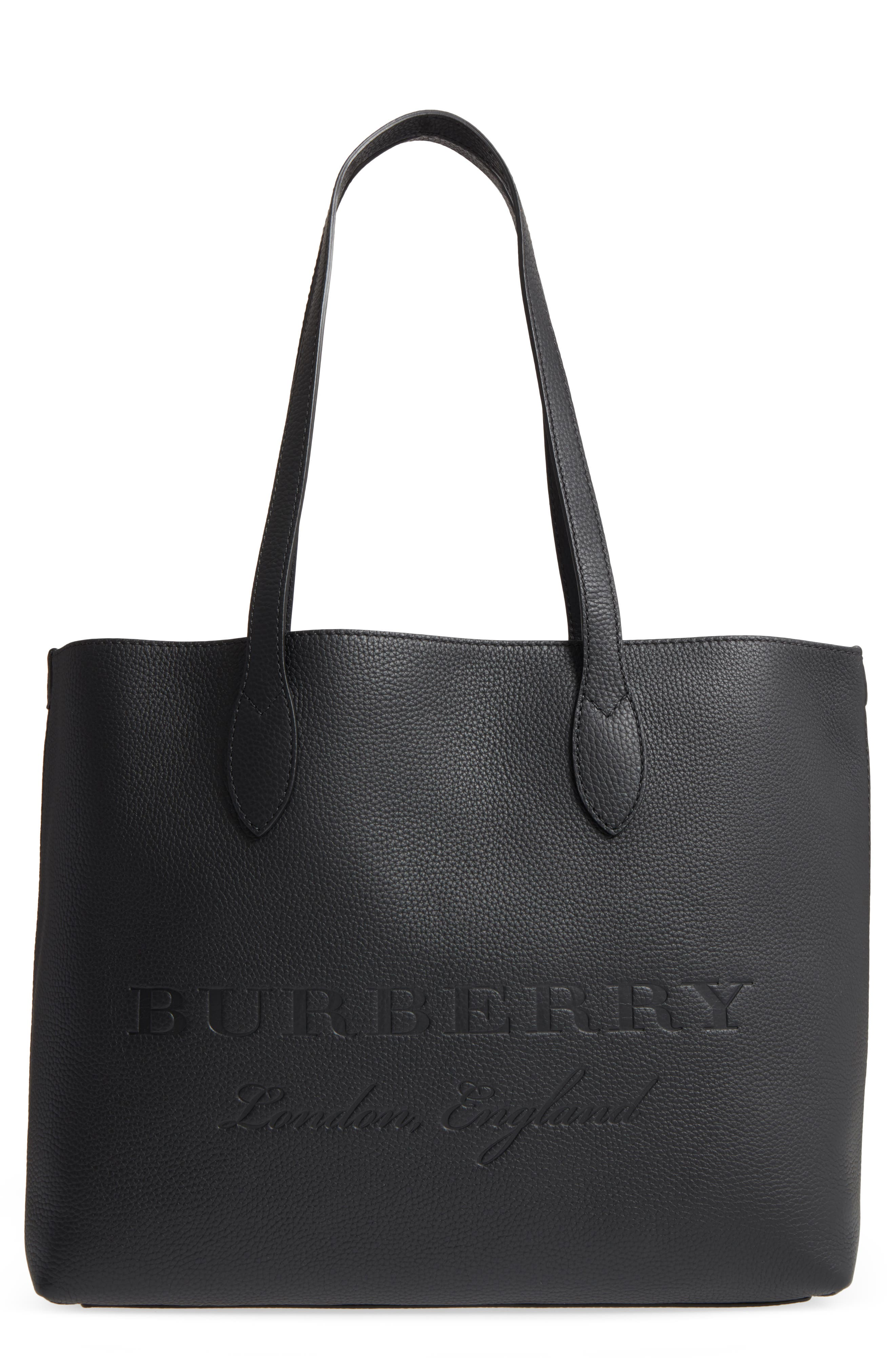 Alternate Image 1 Selected - Burberry Remington Leather Tote