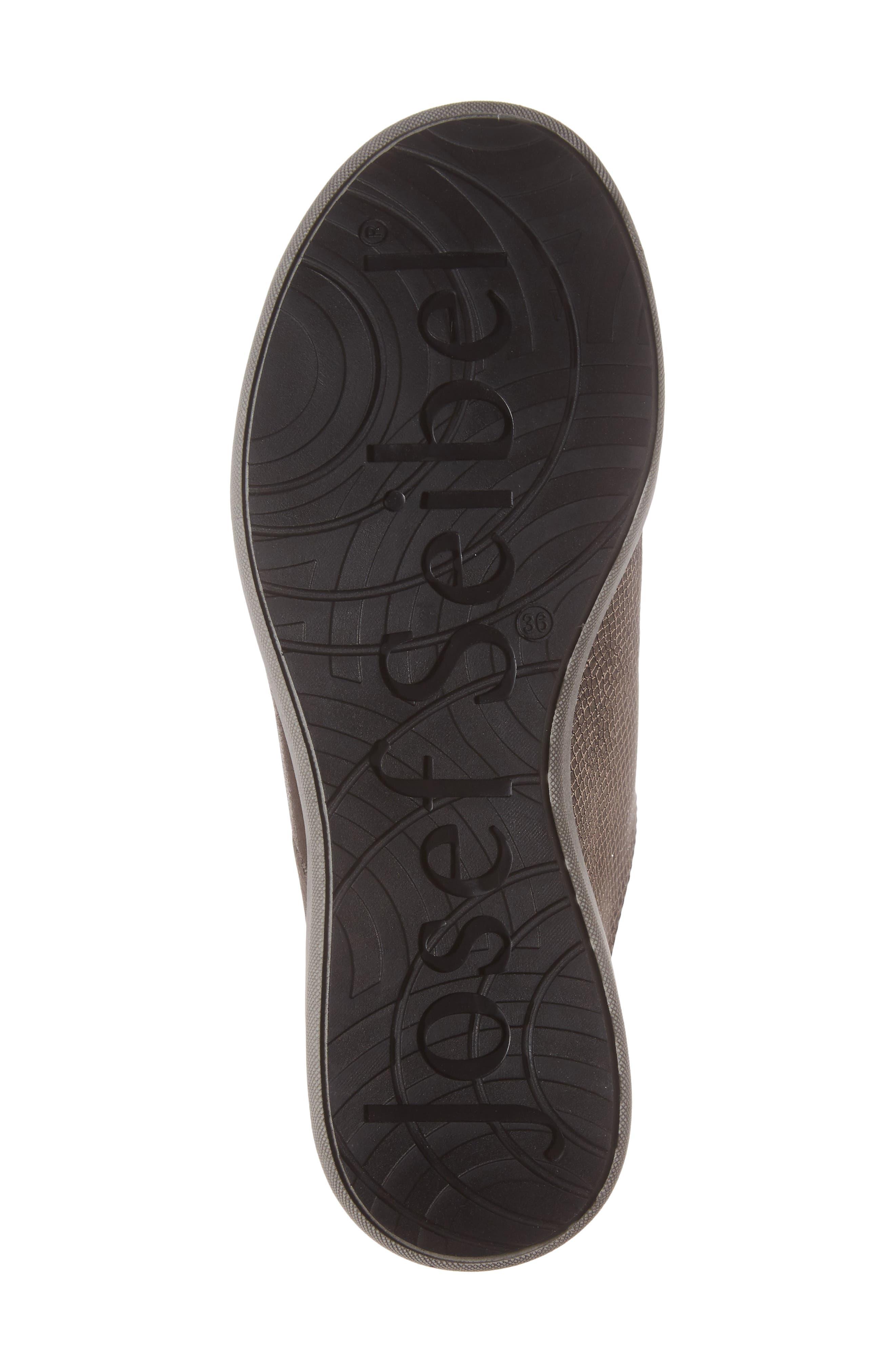 Sina 27 Sneaker,                             Alternate thumbnail 6, color,                             Asphalt/ Kombi Leather