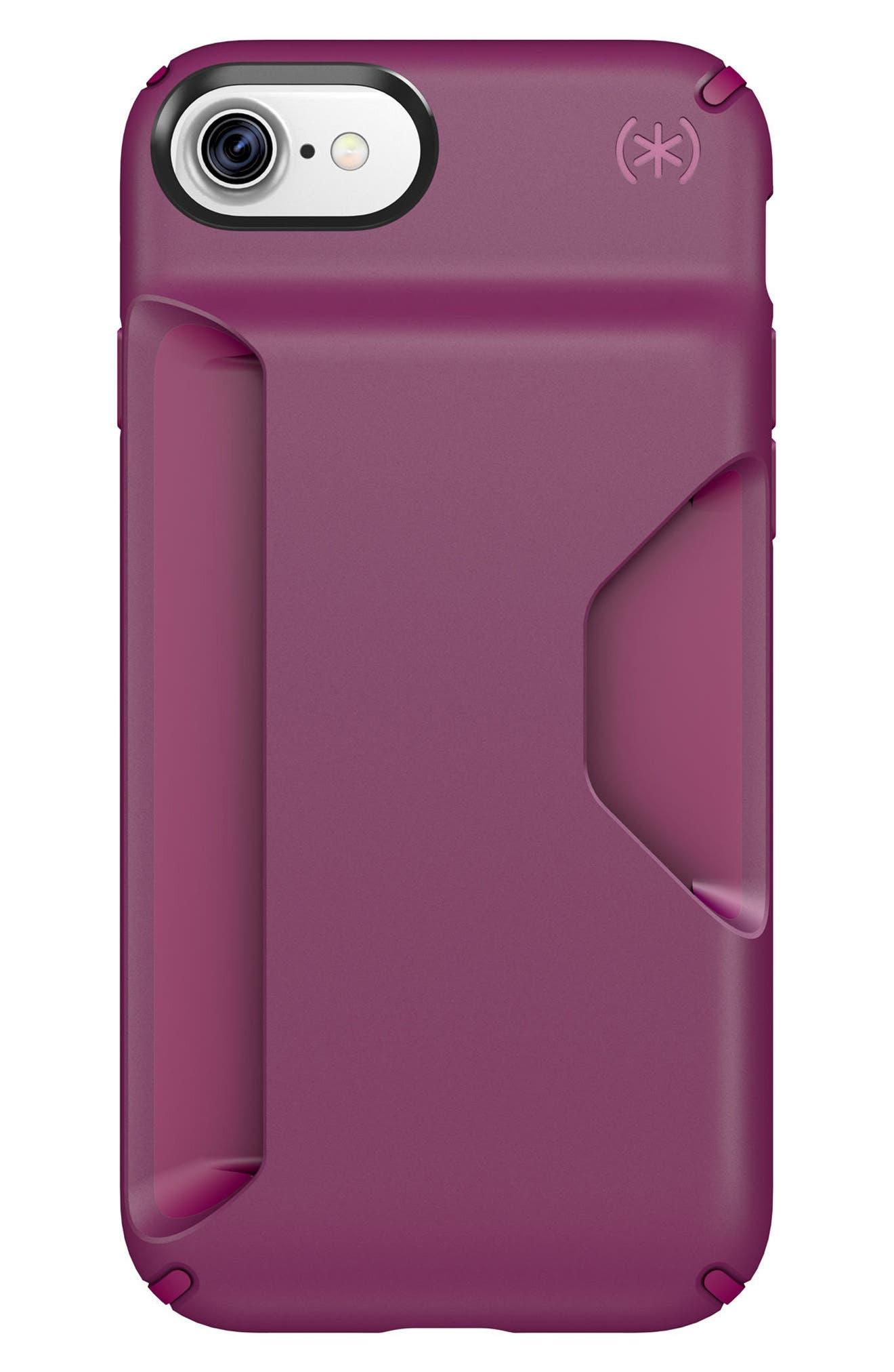 Alternate Image 1 Selected - Speck Presidio Wallet iPhone 6/6s/7/8 Plus Case