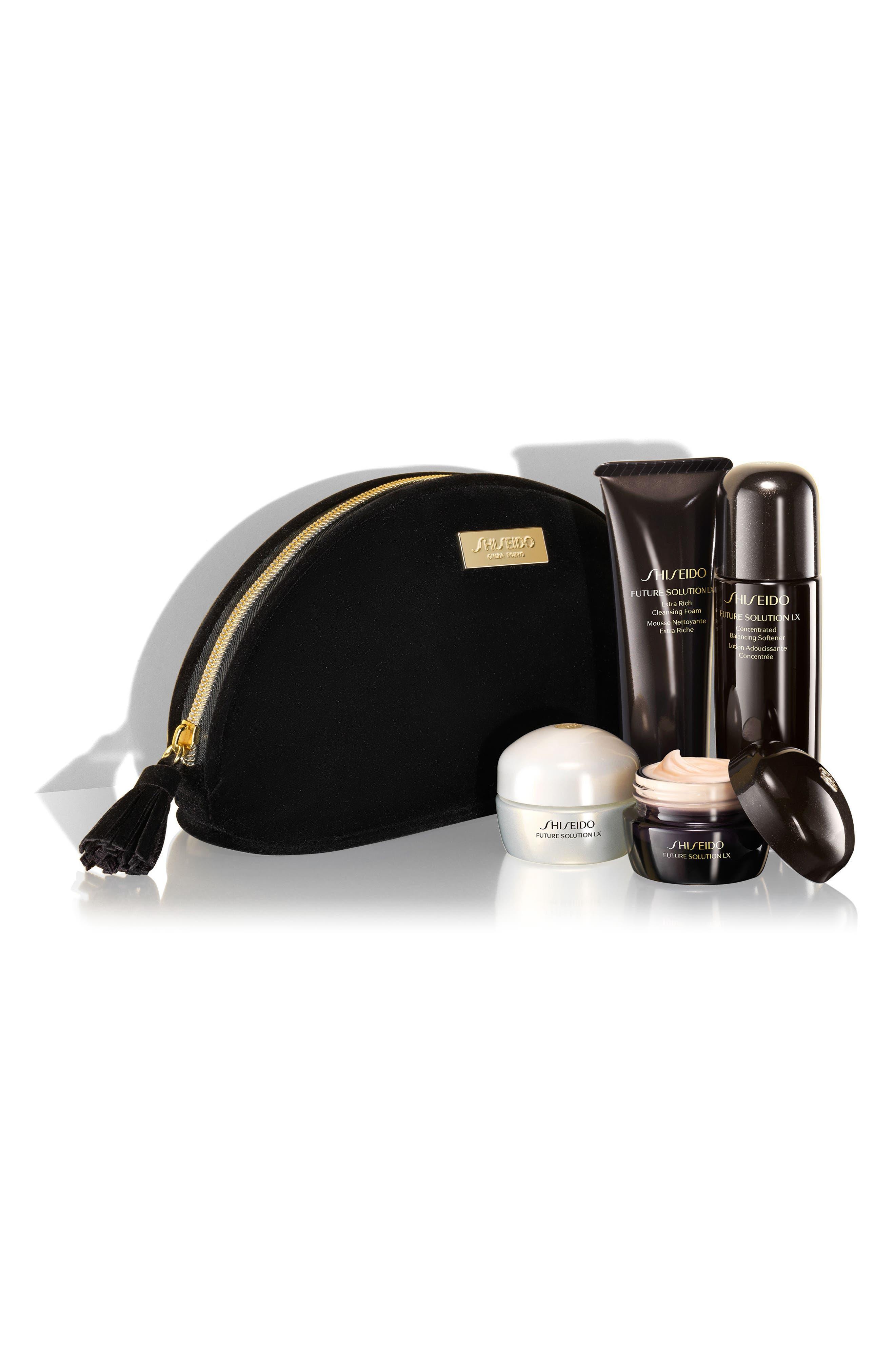 Alternate Image 1 Selected - Shiseido Future Solutions Travel Essentials Set ($232 Value)