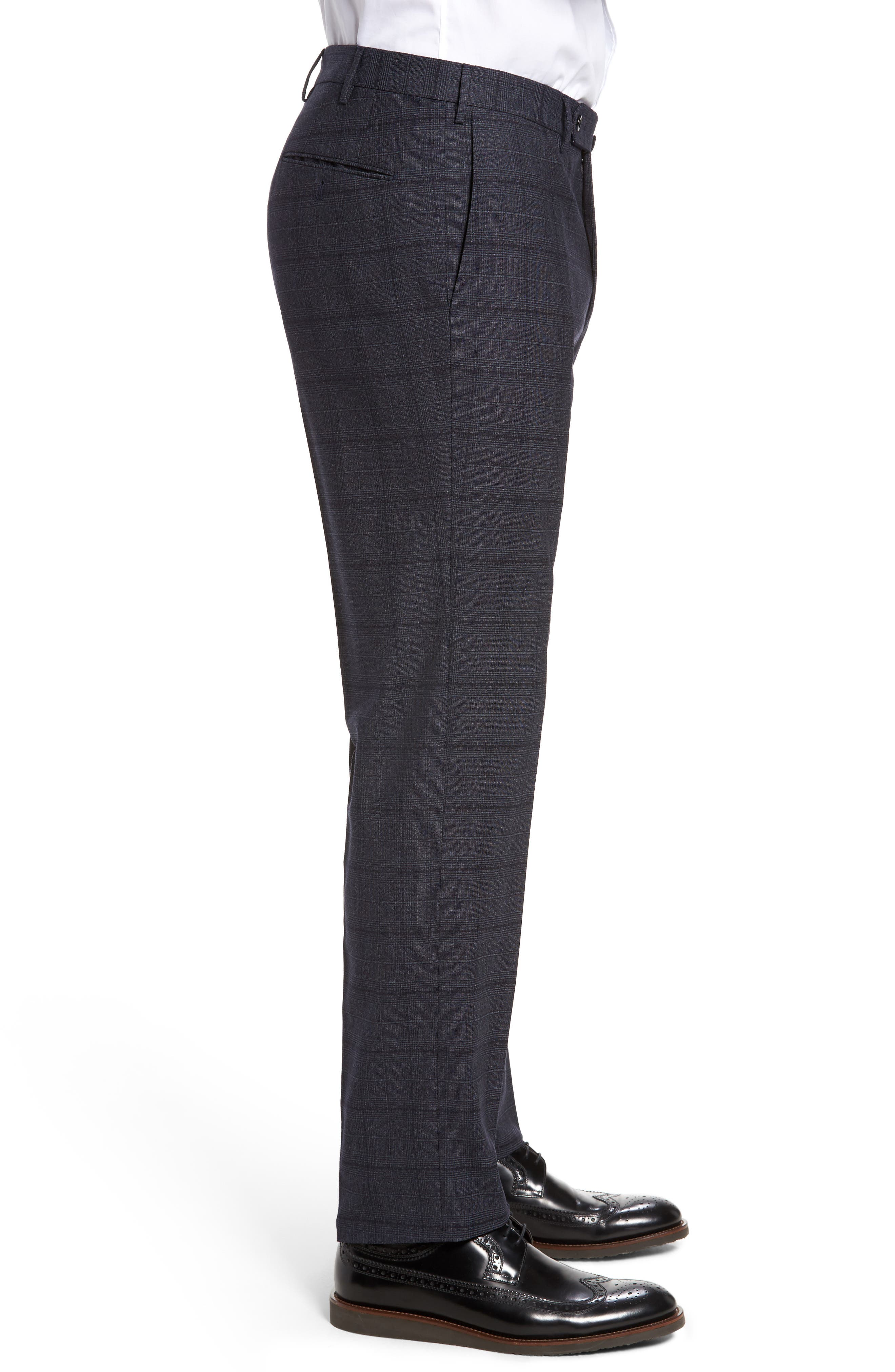 Alternate Image 4  - Incotex Benson Flat Front Trousers
