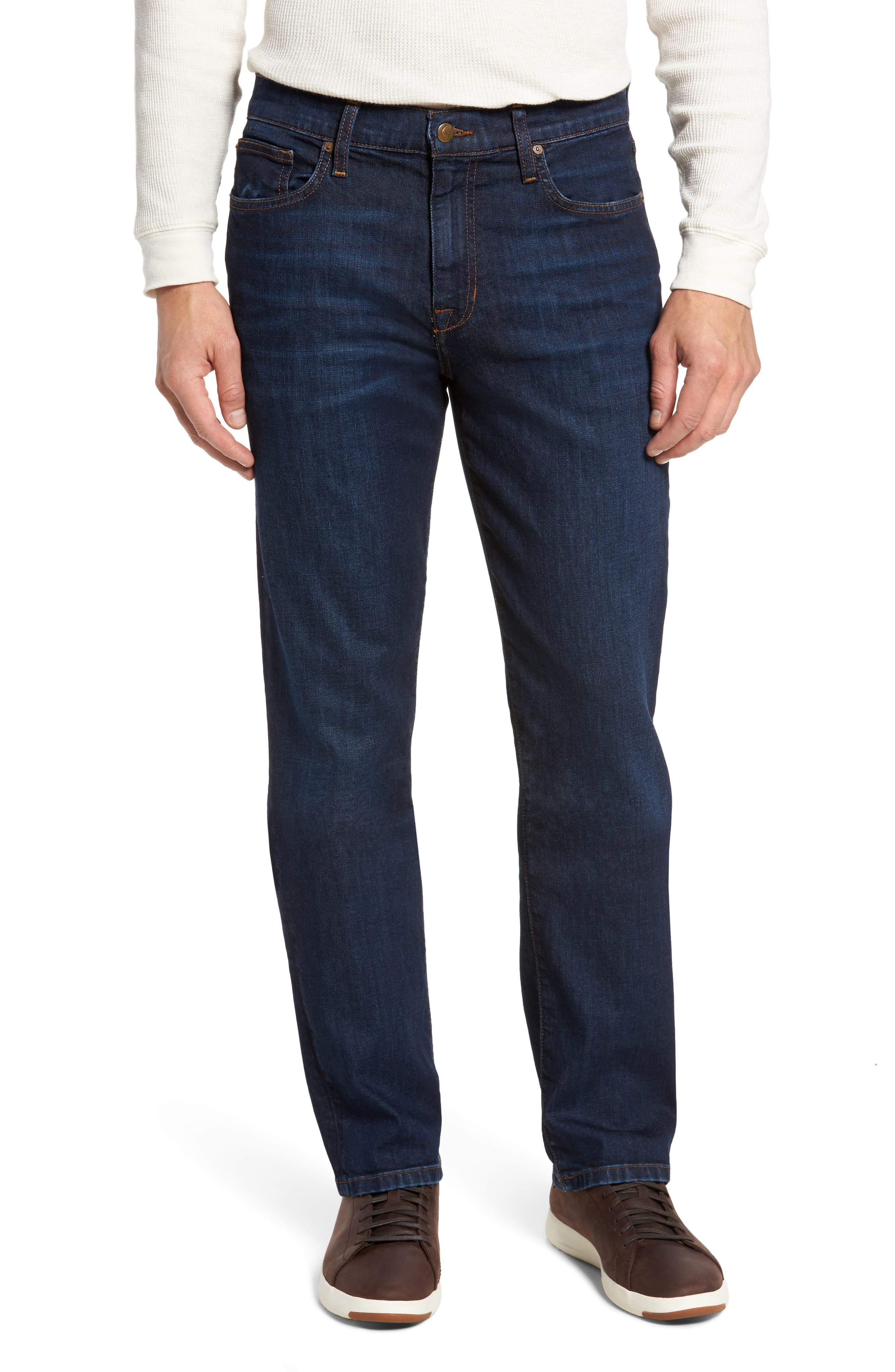 Classic Straight Fit Jeans,                         Main,                         color, Harding