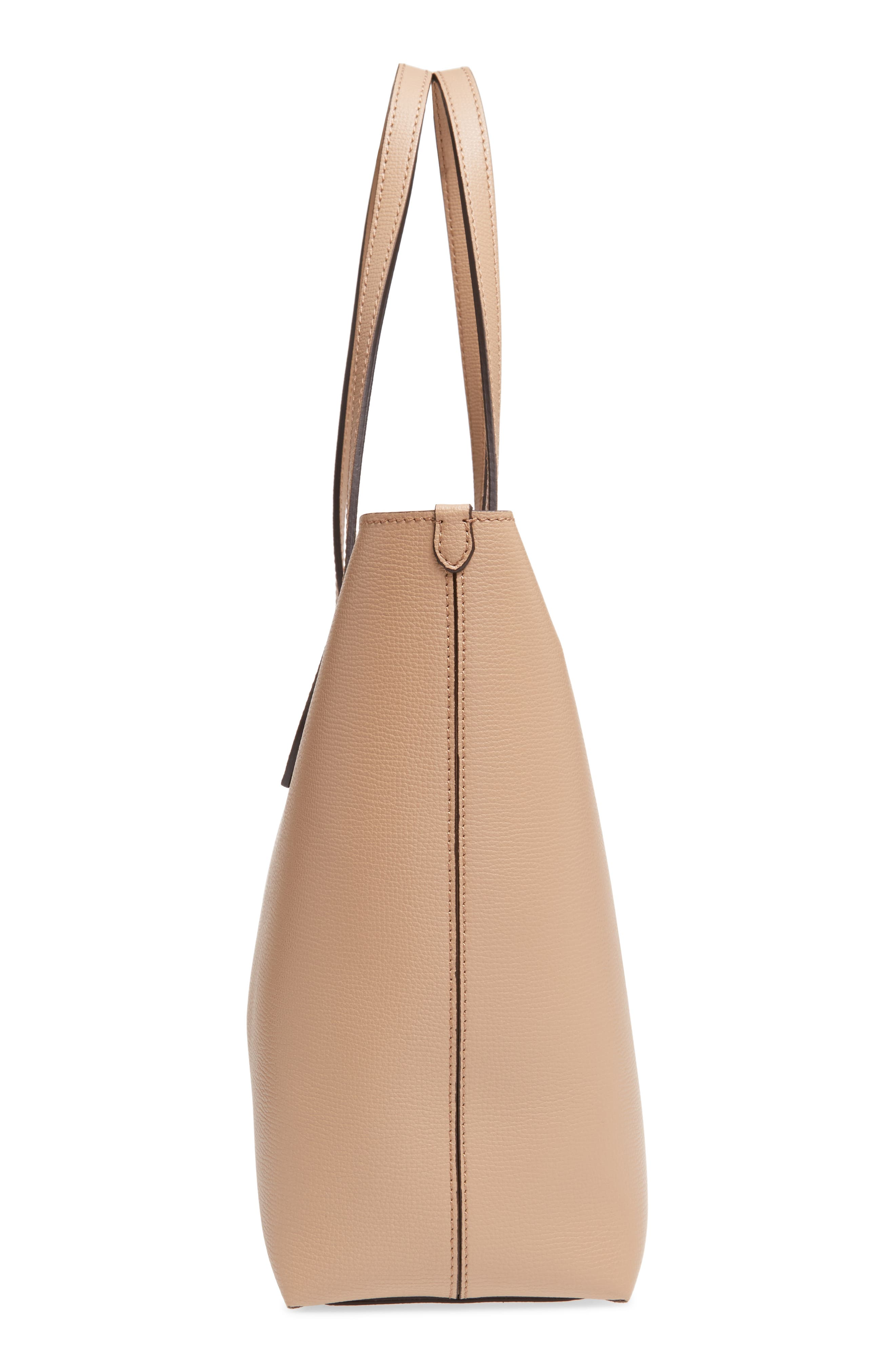 Alternate Image 4  - Burberry Calfskin Leather Tote